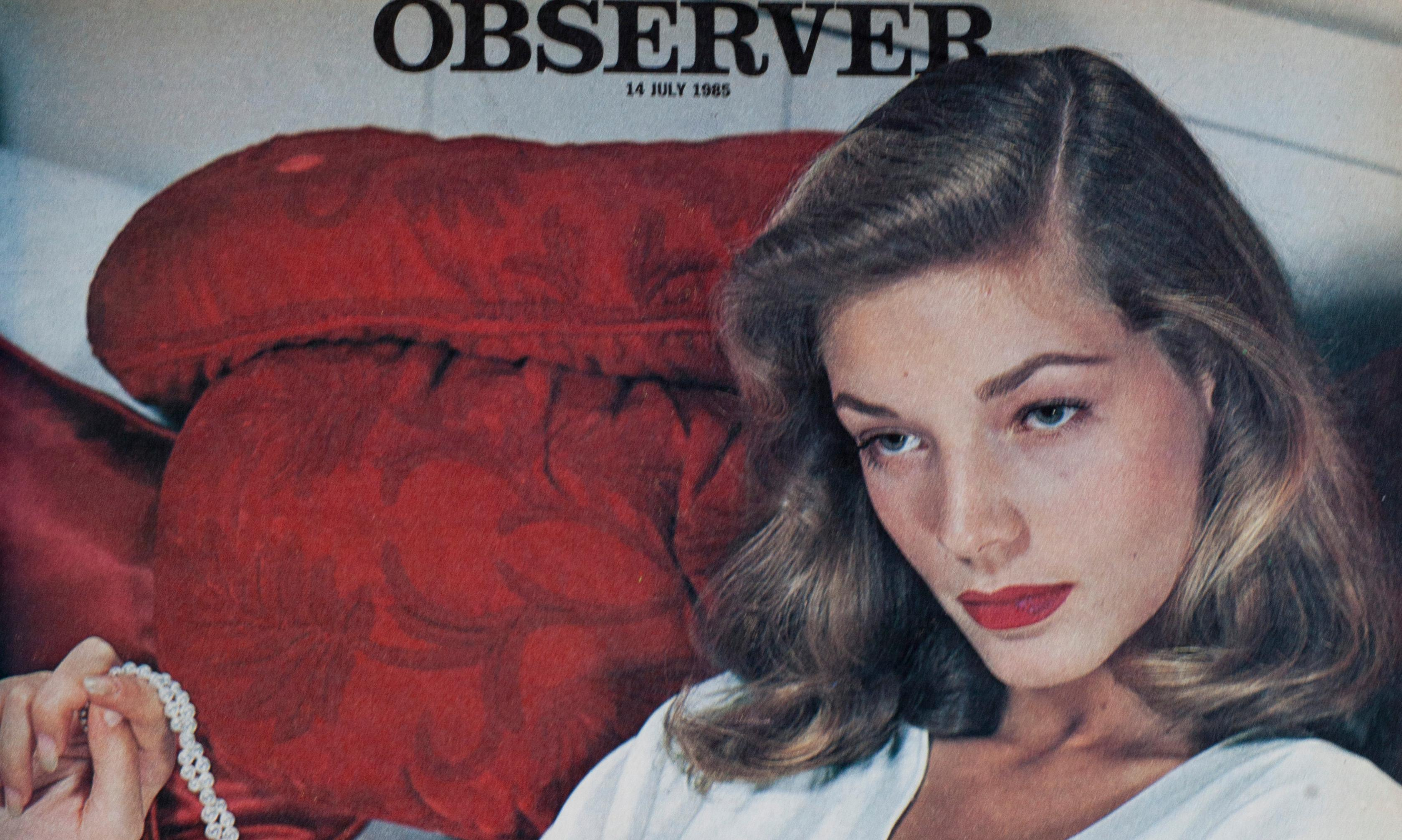 From the archive: When Melvyn Bragg met Lauren Bacall