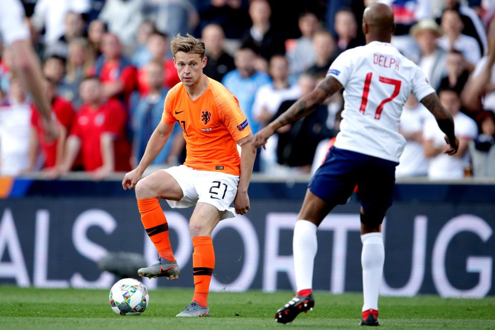 Frenkie de Jong of the Netherlands should be in his pomp come the 2022 World Cup.