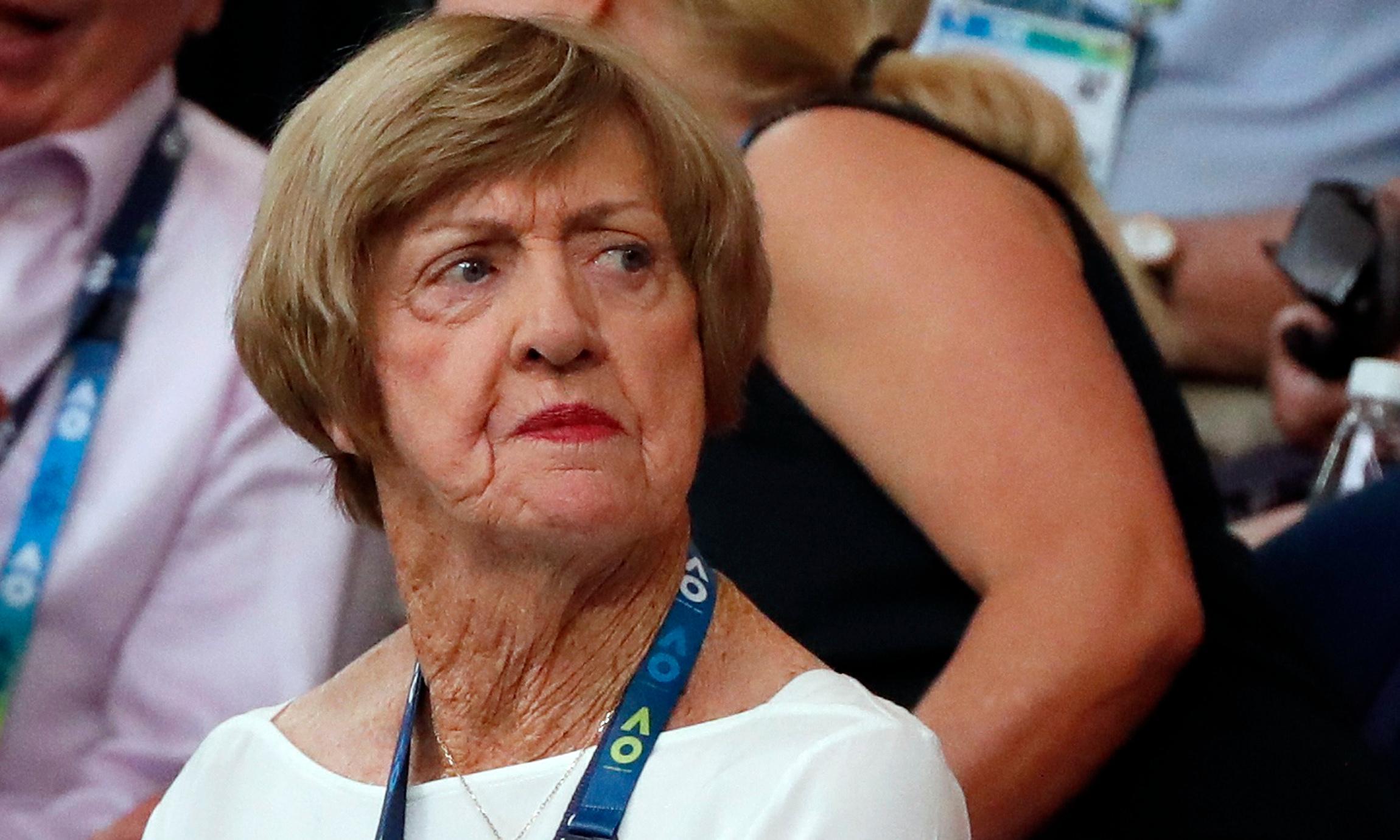 Margaret Court claims discrimination after treatment by Tennis Australia