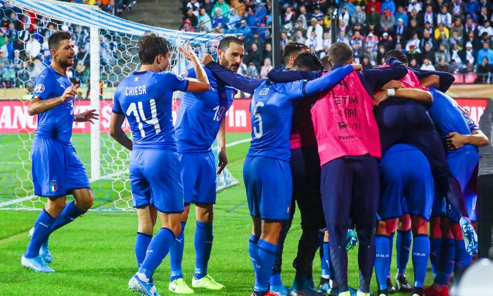 Victory in Finland gave Italy yet more cause for celebration.