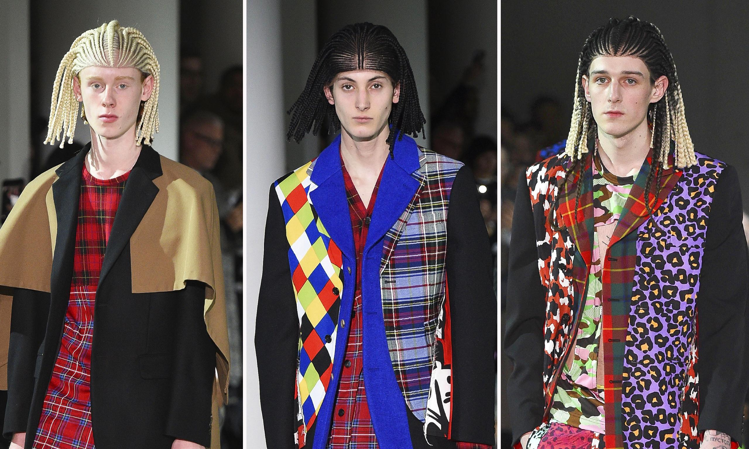 Comme des Garçons in row over 'white models in cornrow wigs'