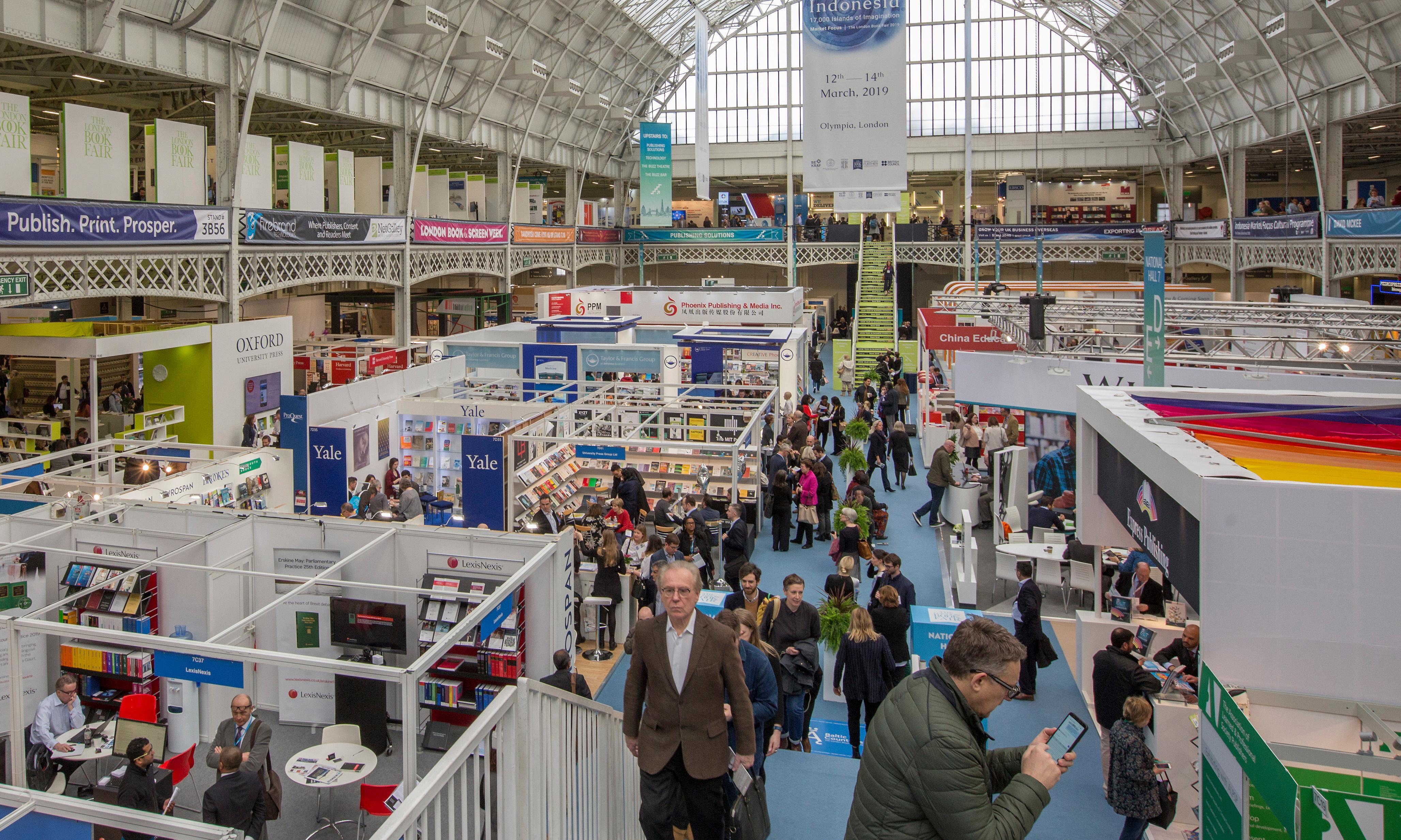 True crime grips London book fair 2019