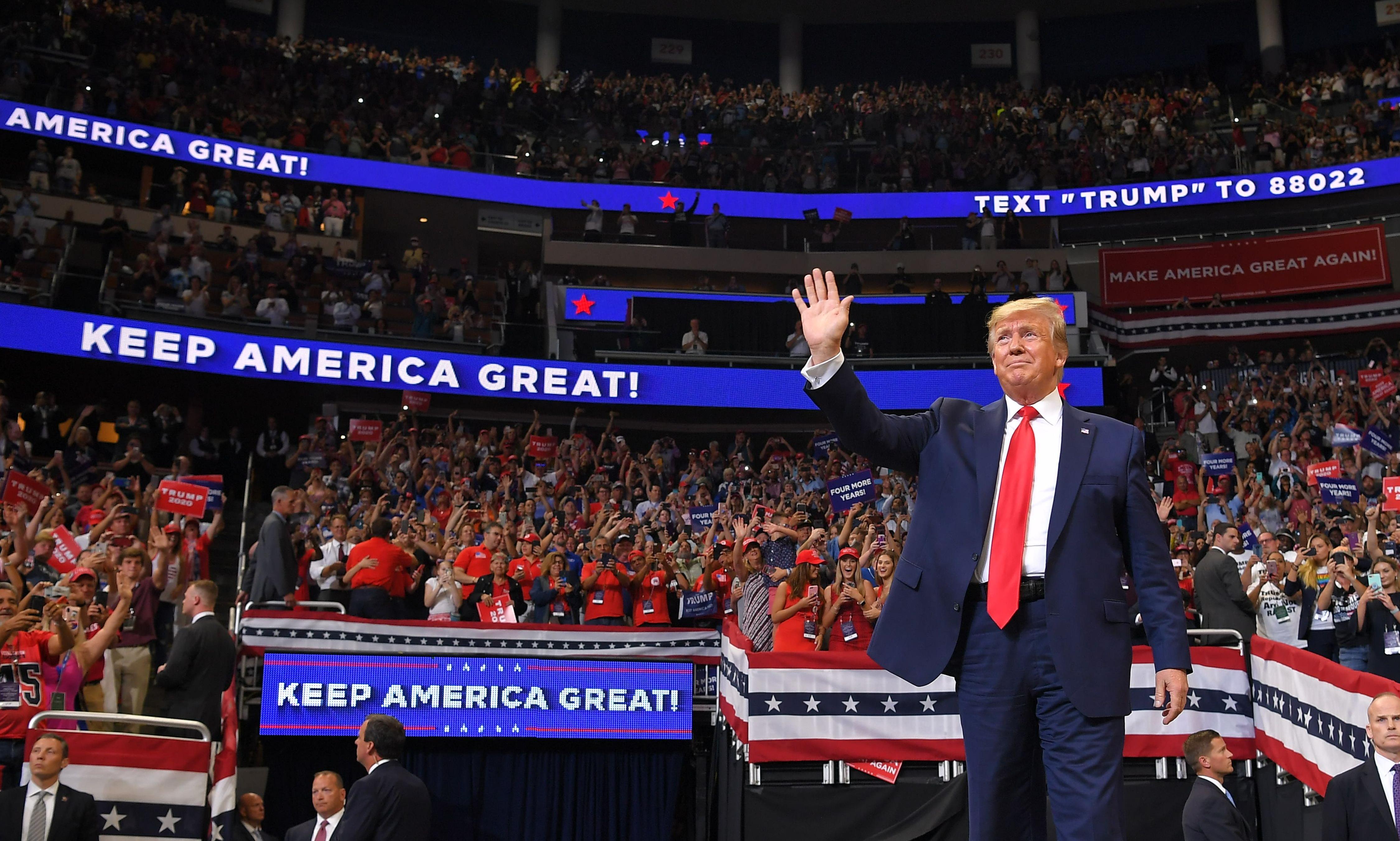 Trump's 2020 kick-off proves he lacks the self-awareness to change