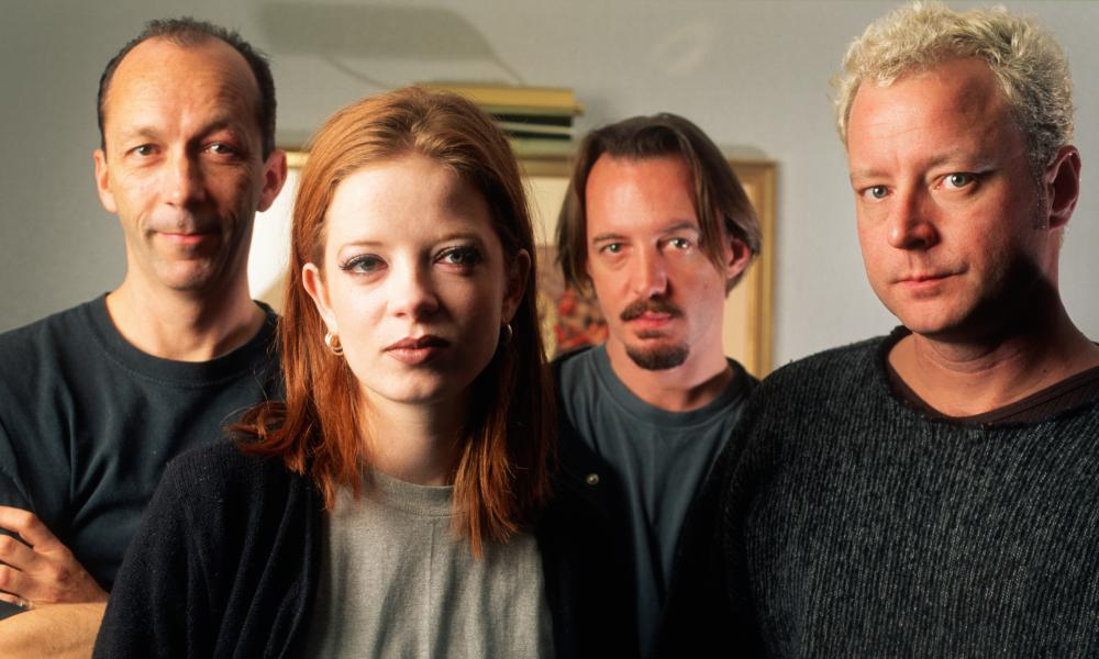'It was the four of us against the world …' Shirley Manson, Duke Erikson, Steve Marker and Butch Vig in 1995.