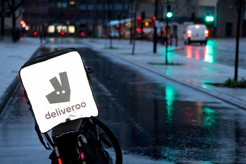 Food delivery riders work mostly at night.