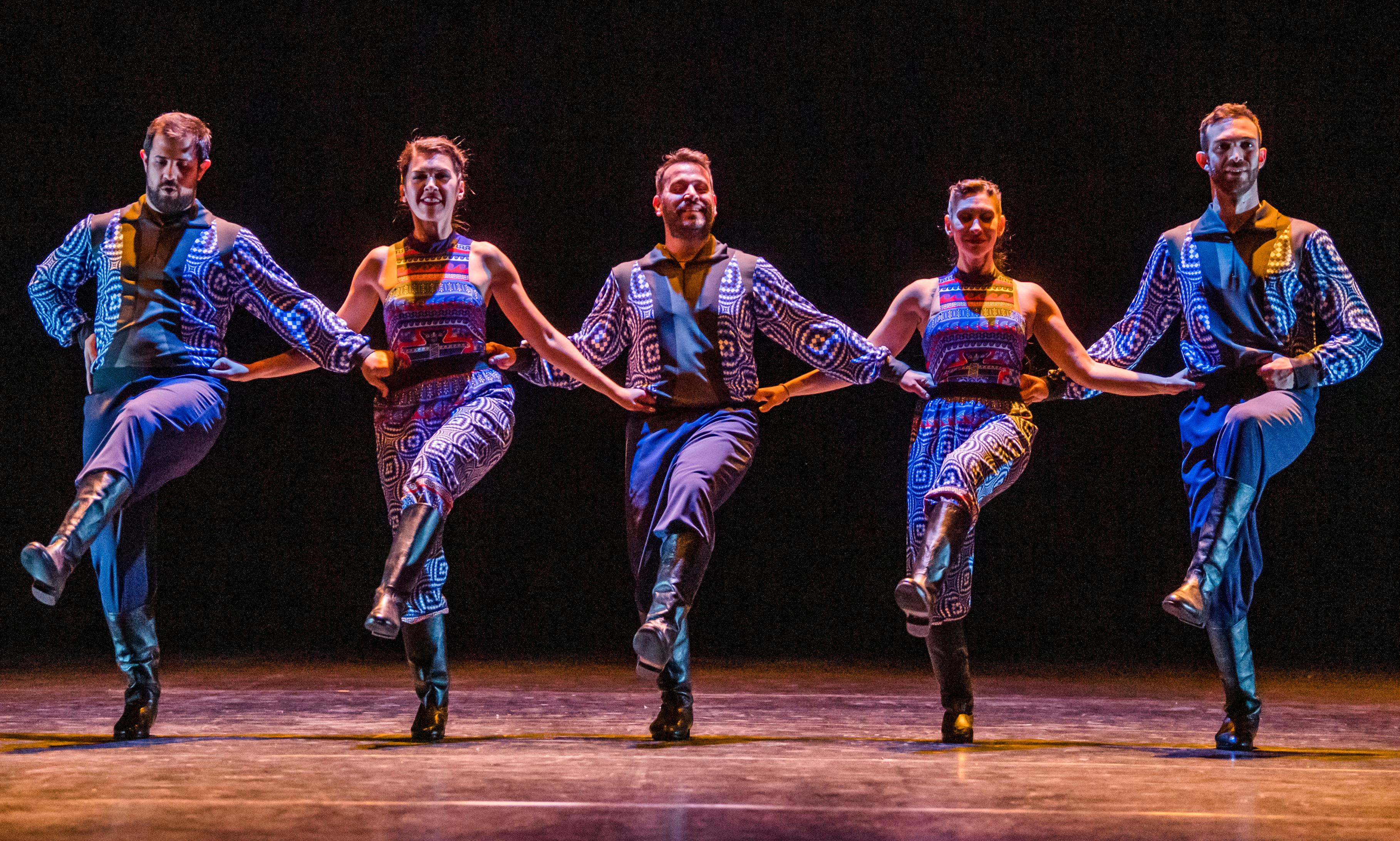 The Thread review – Russell Maliphant and Vangelis join forces in a Hellenic Riverdance