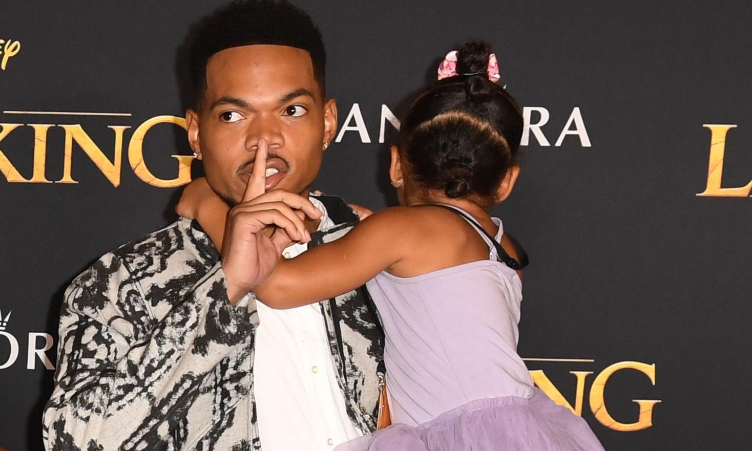 Chance the Rapper was The Lion King's 'nostalgia consultant'. That's not the oddest movie credit