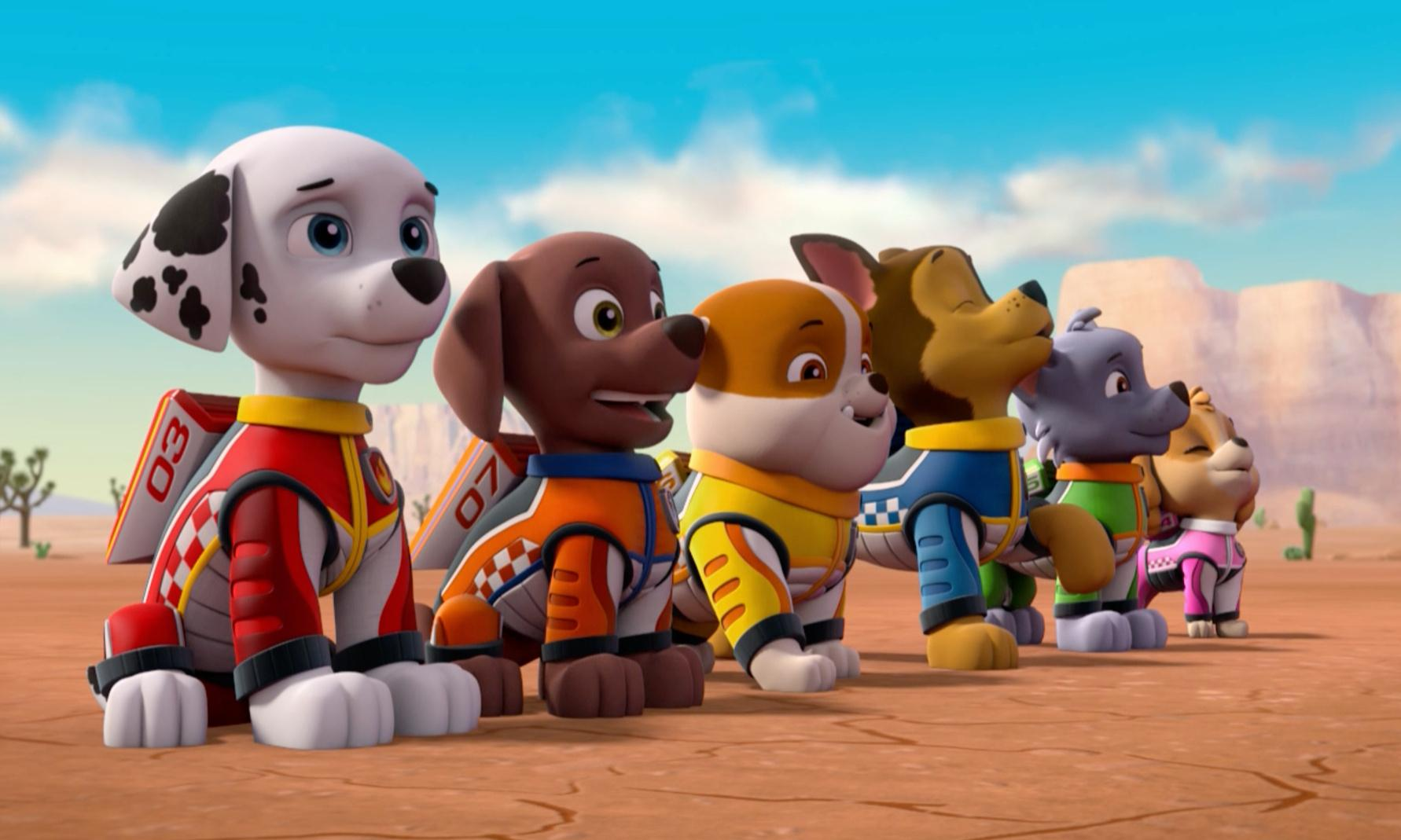 Paw Patrol: Ready, Race, Rescue! review – 48 minutes in the pits