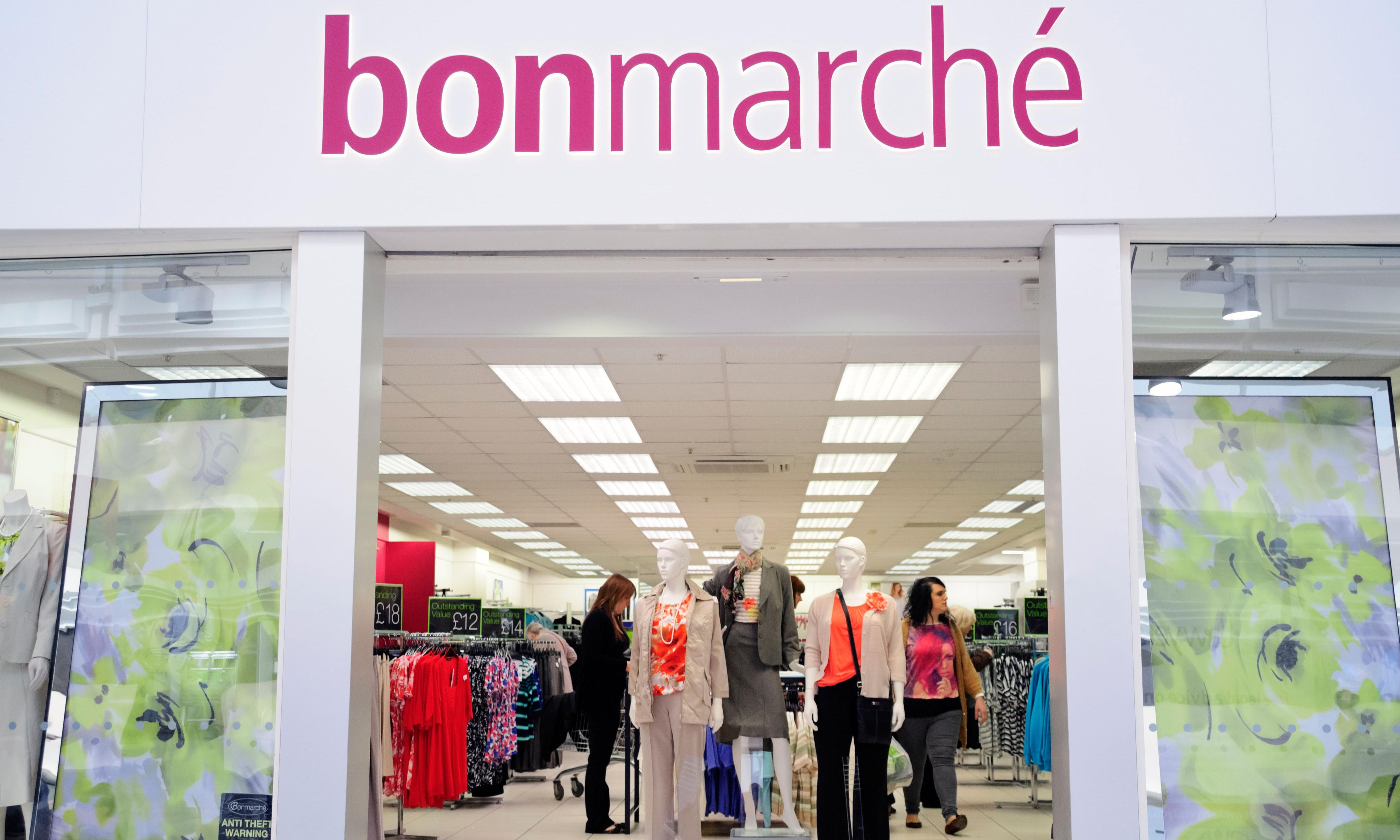 Bonmarché shares fall after warning of heavier loss