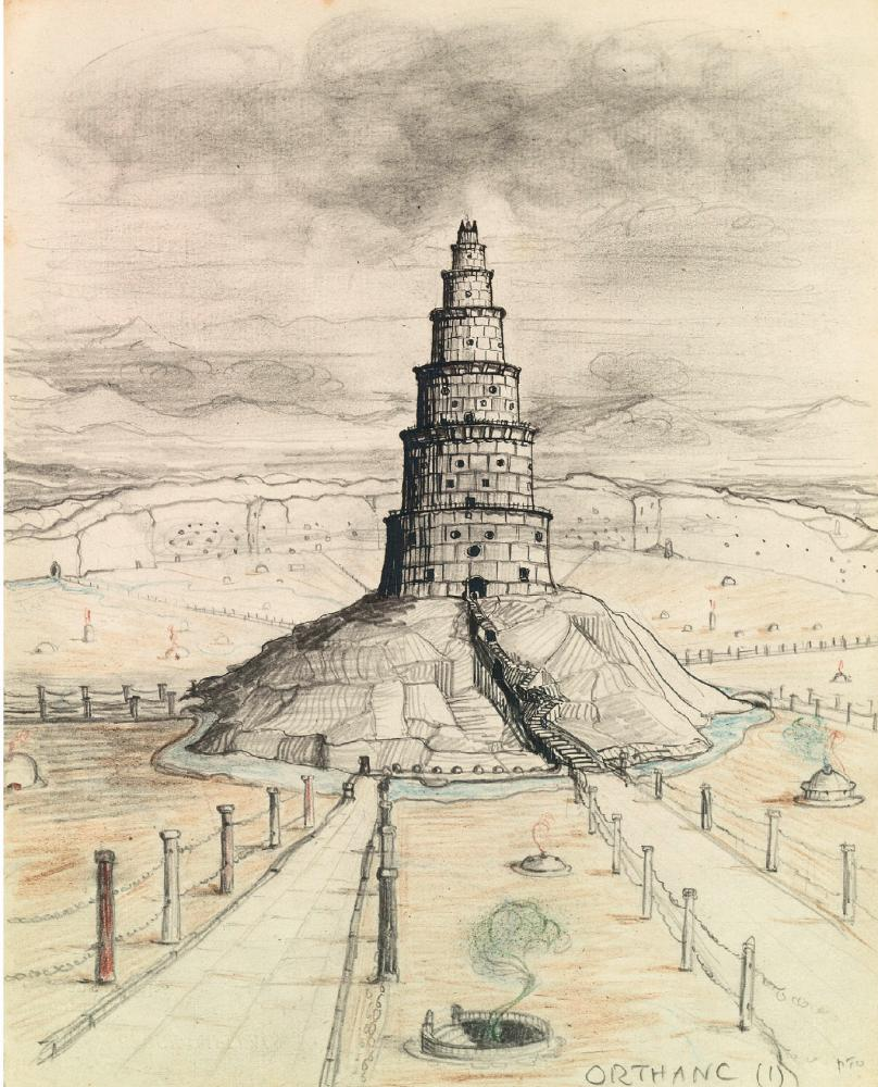 Orthanc by JRR Tolkien.