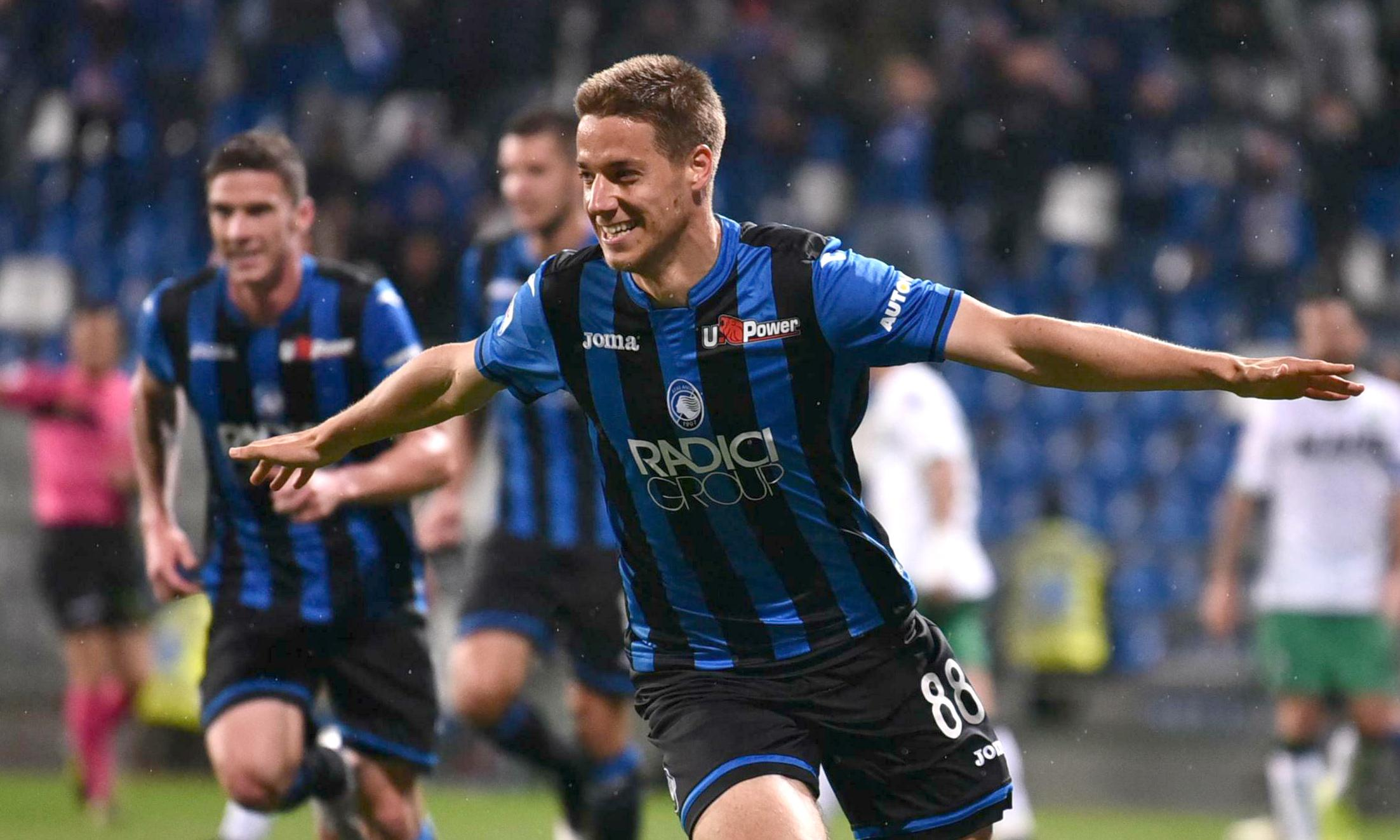 Atalanta win to claim Champions League place for first time