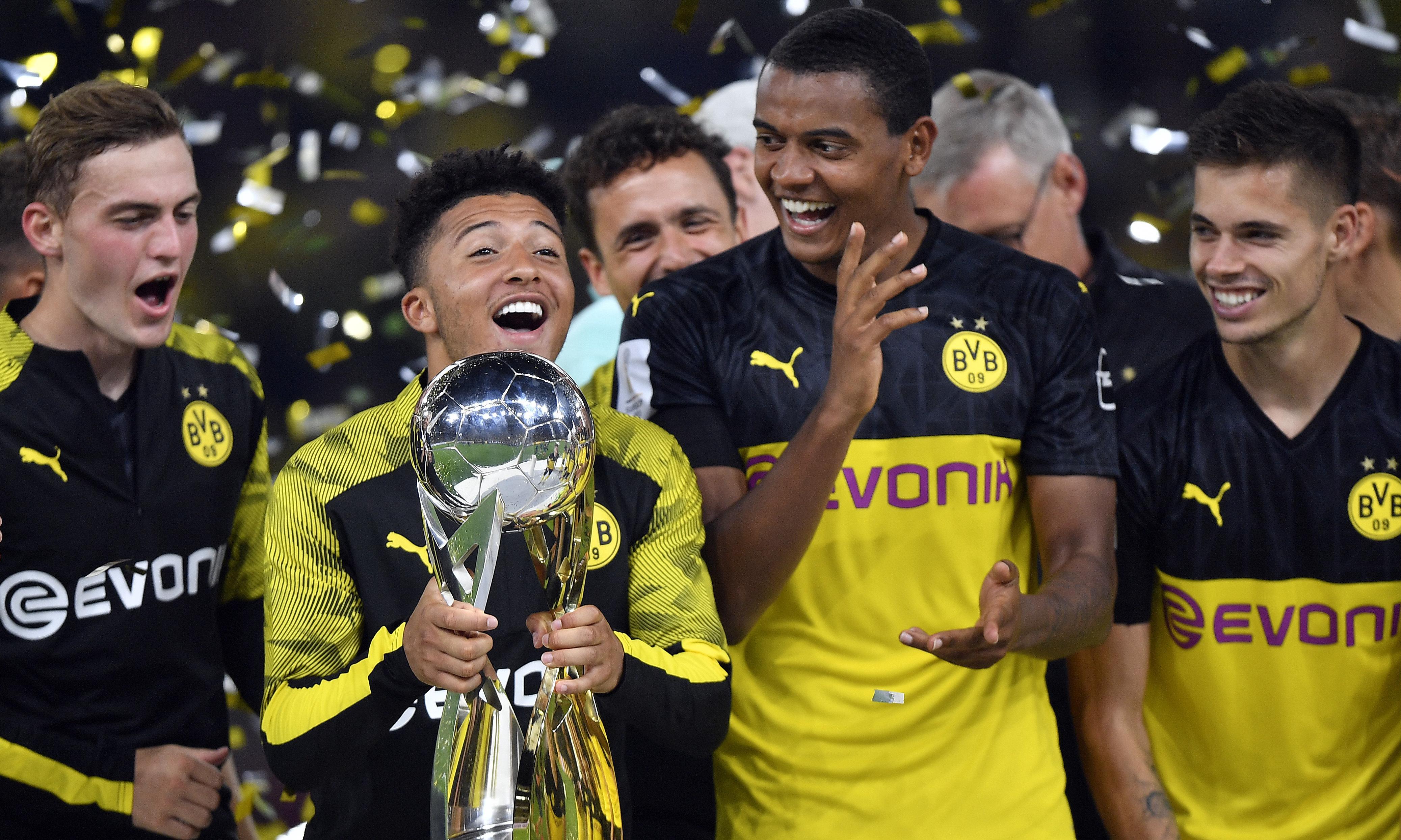 Jadon Sancho stars as Dortmund earn Supercup win over Bayern Munich
