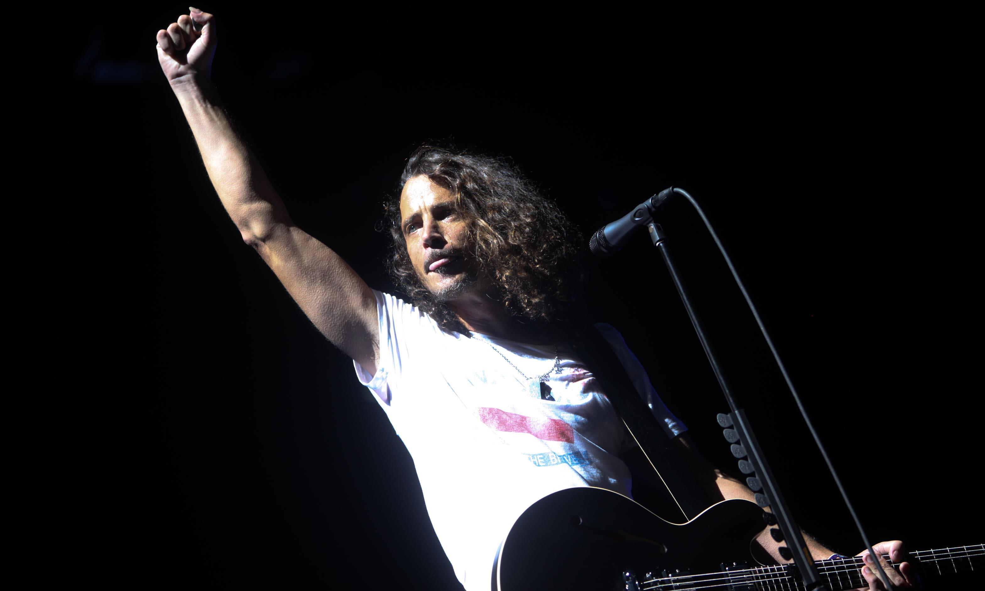 Chris Cornell performs at Lollapalooza festival, Chicago, in 2010.