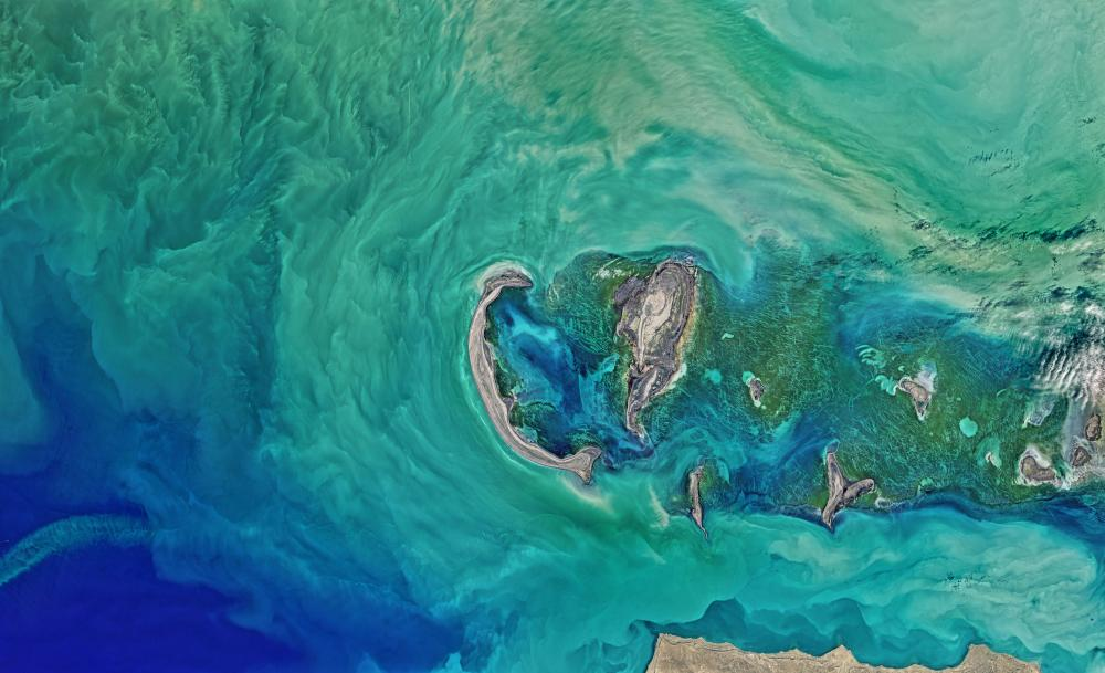 Satellite Eye On Earth April In Pictures Environment - Earth satellite view 2016