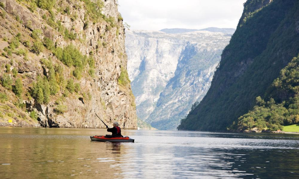 Naeroyfjord in Norway