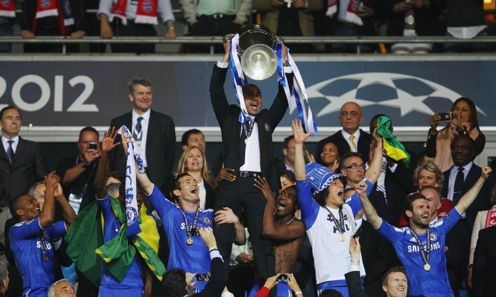 Roberto Di Matteo's brief Chelsea tenure included a remarkable Champions League success.