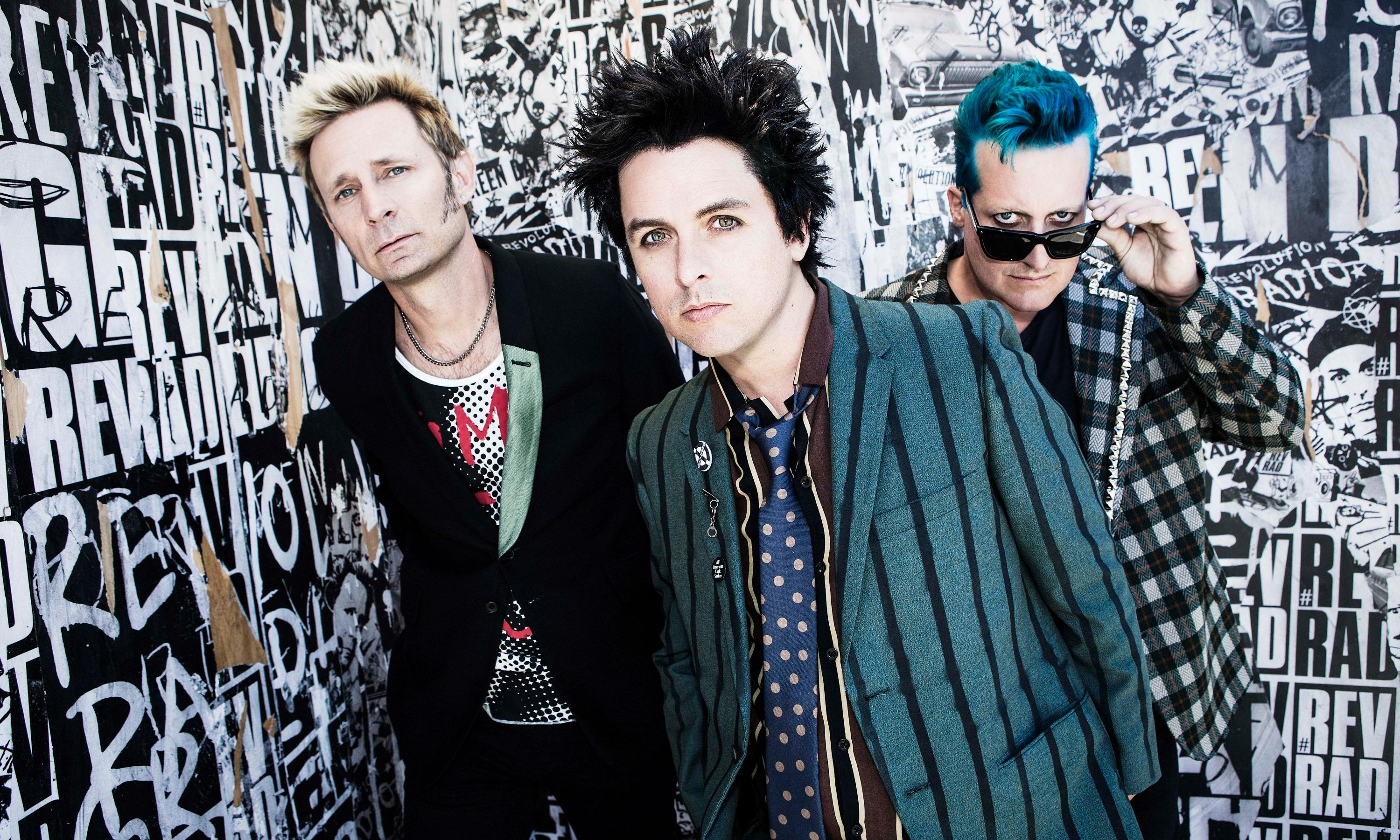 What makes Green Day think four men are the perfect authors for a book about female empowerment?