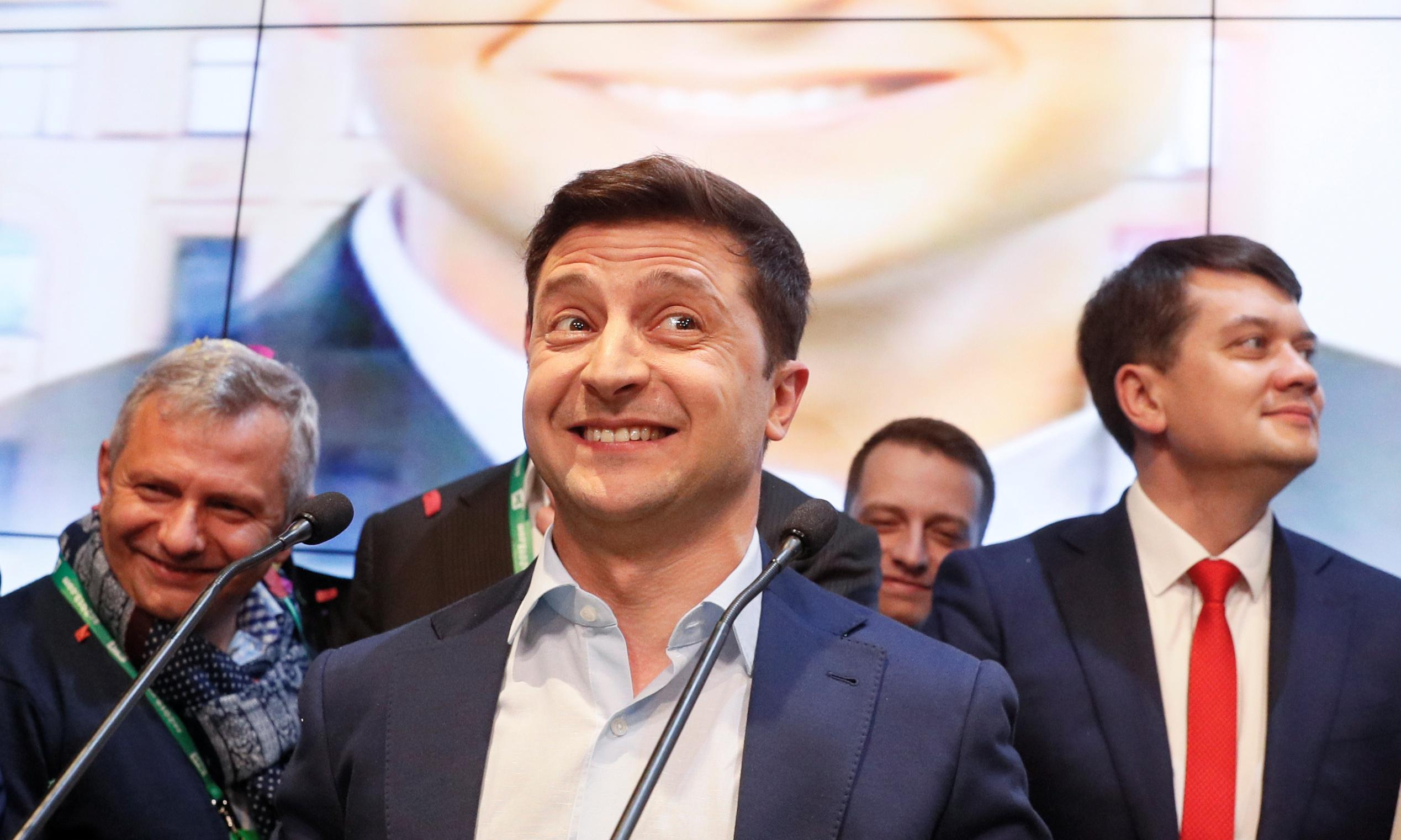 Zelenskiy's victory in Ukraine was extraordinary. But now he faces a real test
