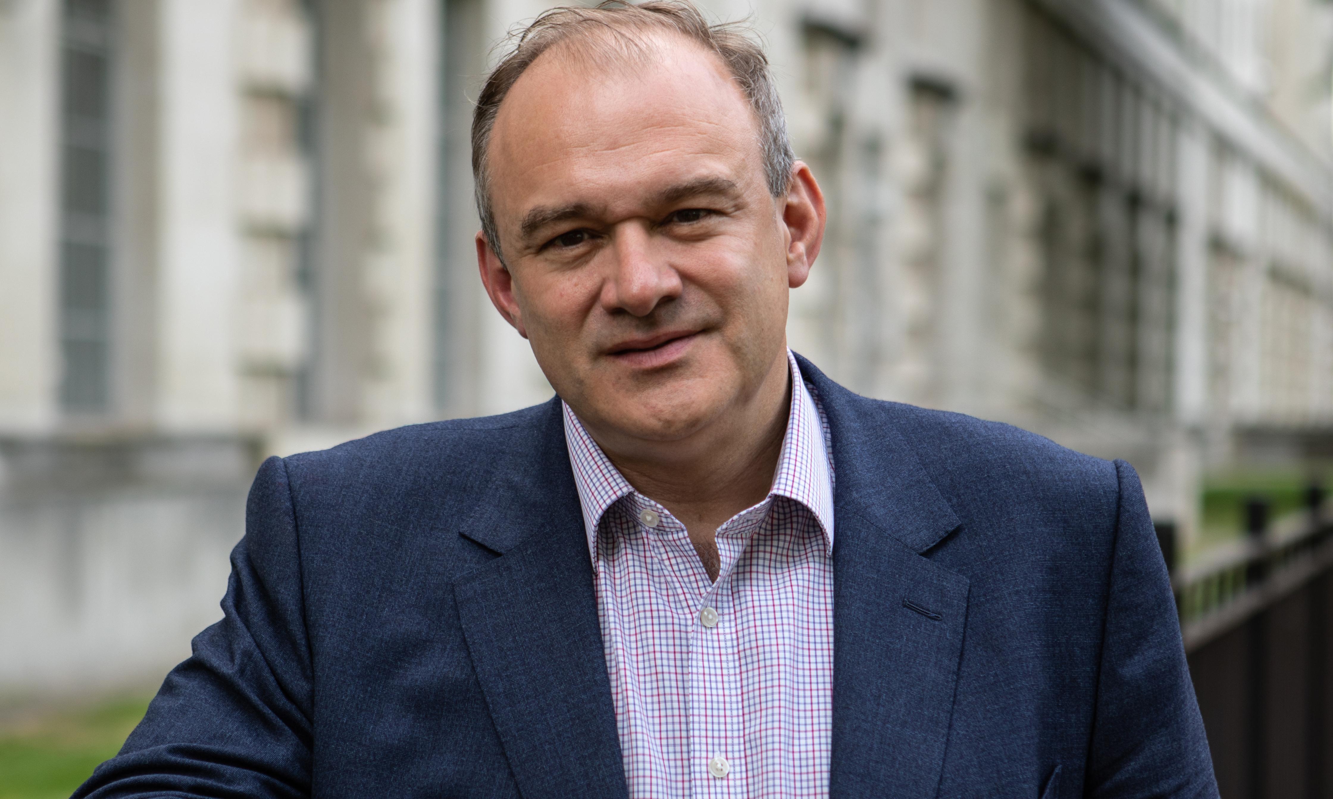 Yvette Cooper or Hilary Benn should lead unity government to halt Brexit – Ed Davey