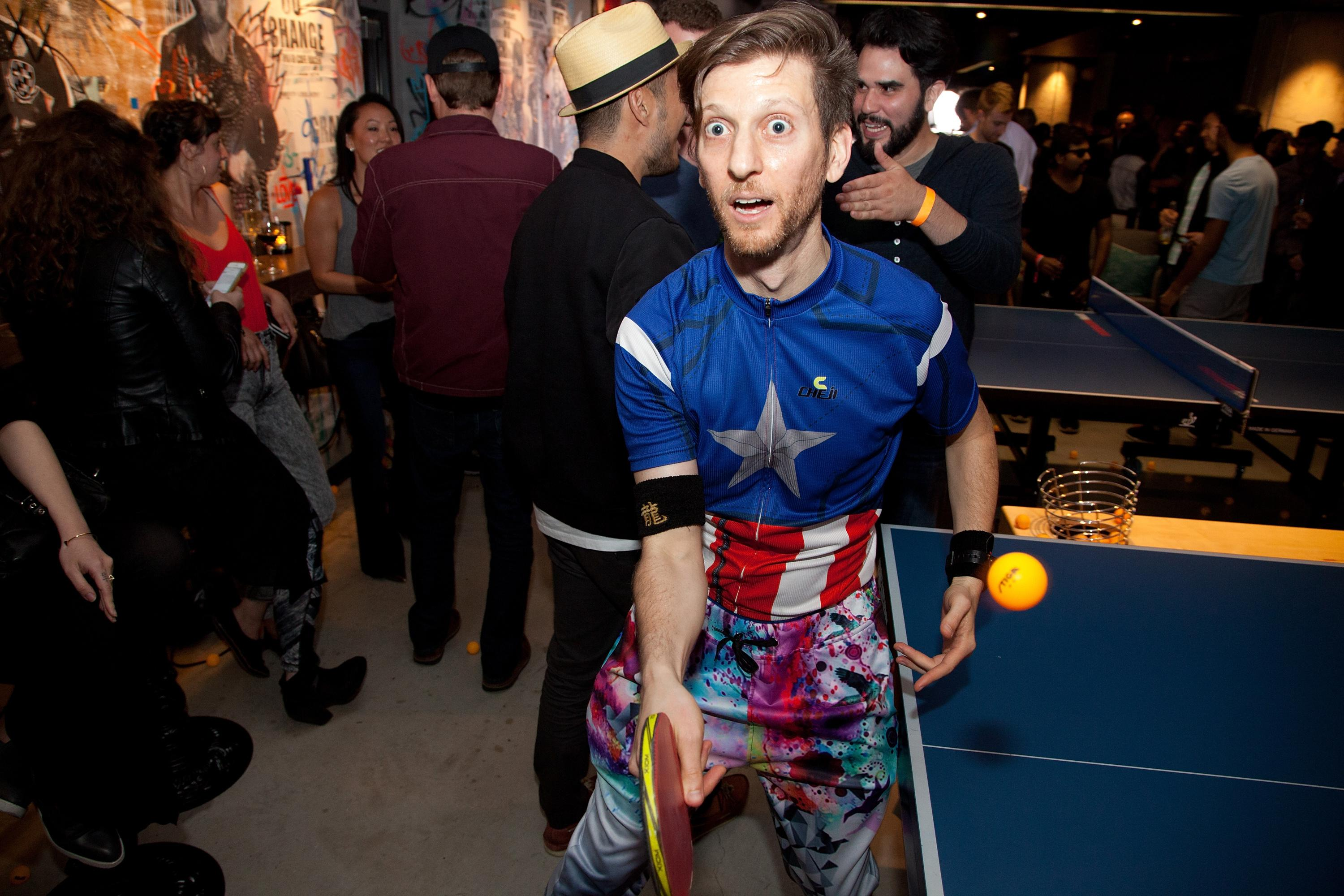 The 'extreme extrovert' on a mission to make you love ping pong