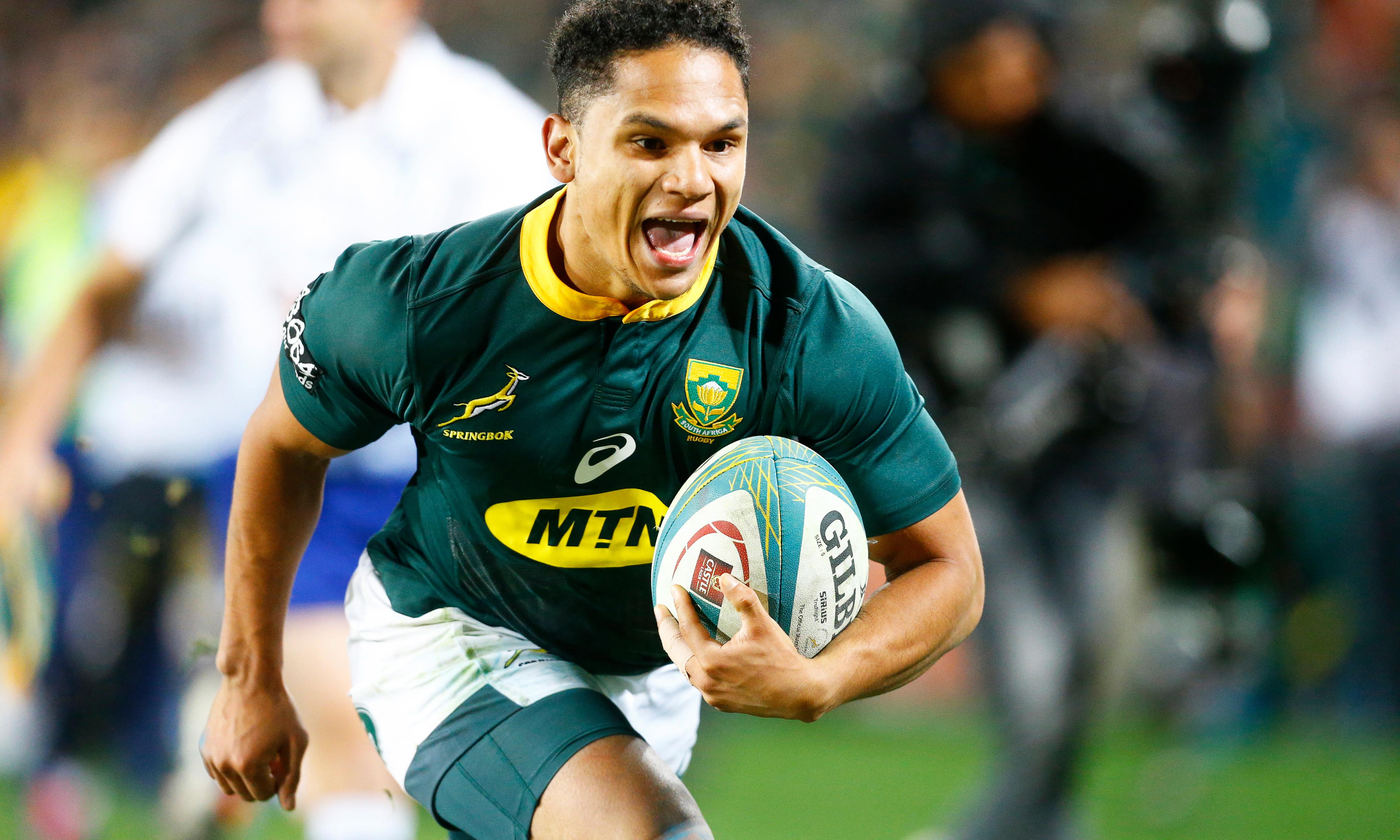 Herschel Jantjies leads South Africa past Australia with debut double
