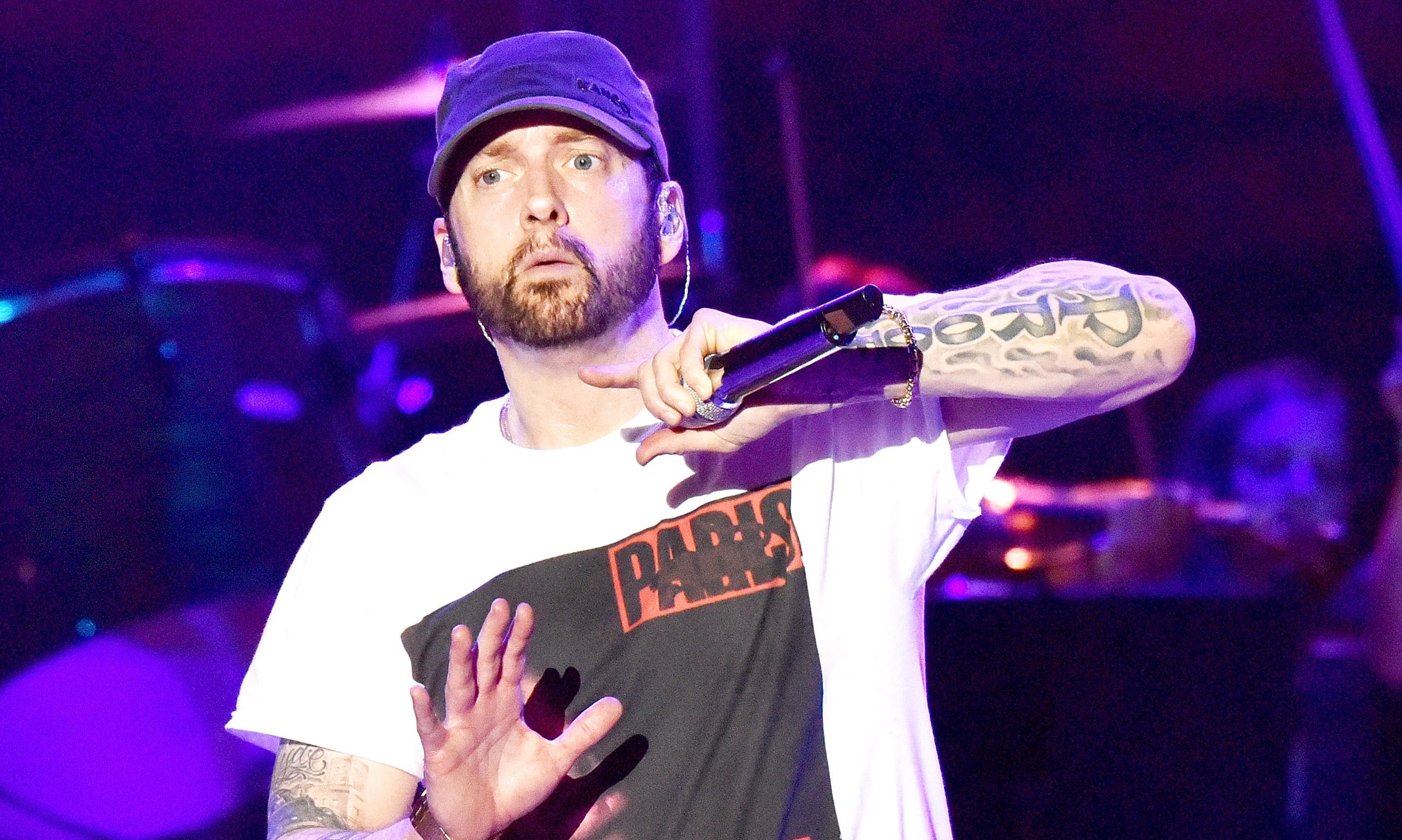 Eminem faces backlash after comparing himself to Manchester Arena bomber