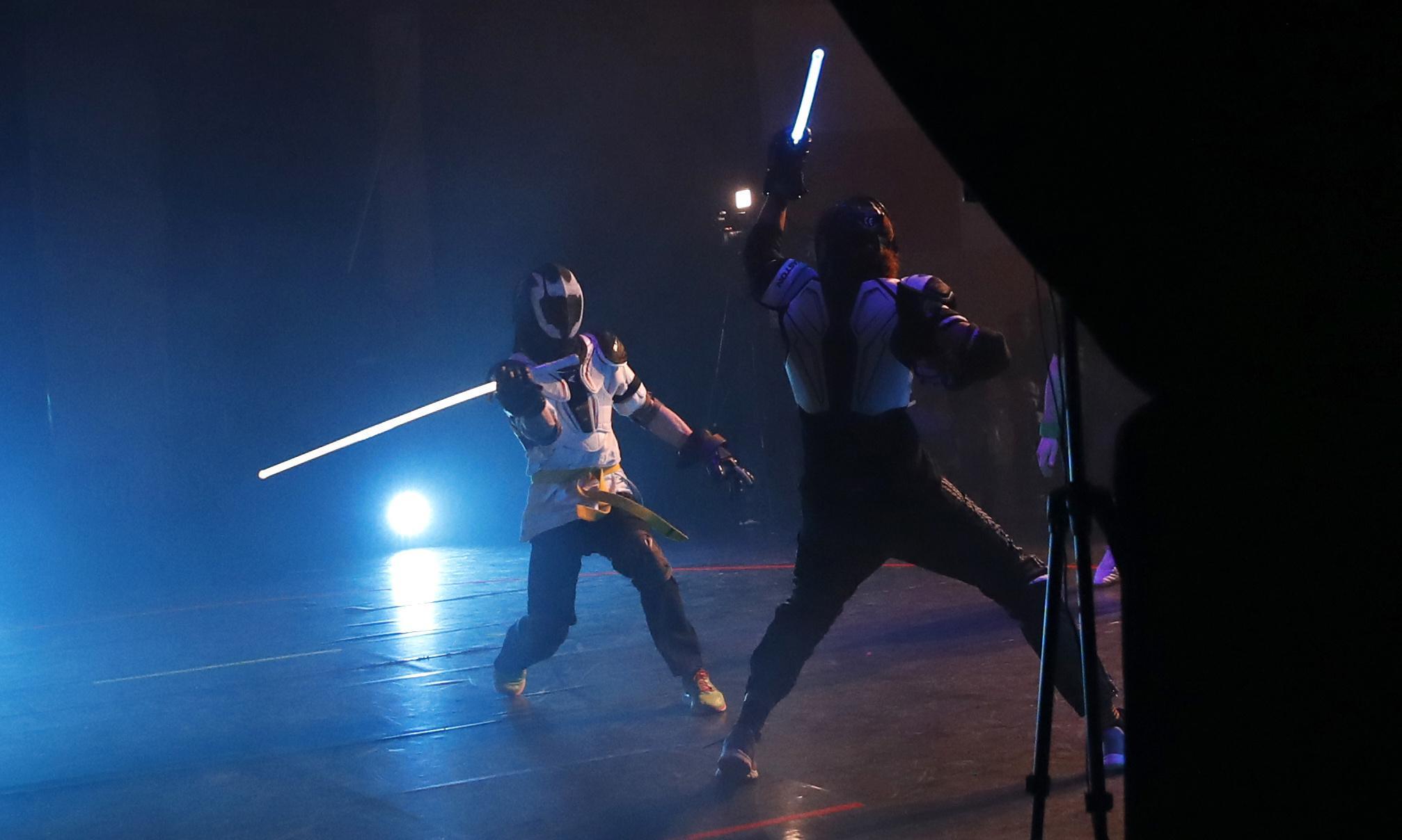 Lightsaber duelling registered as official sport in France