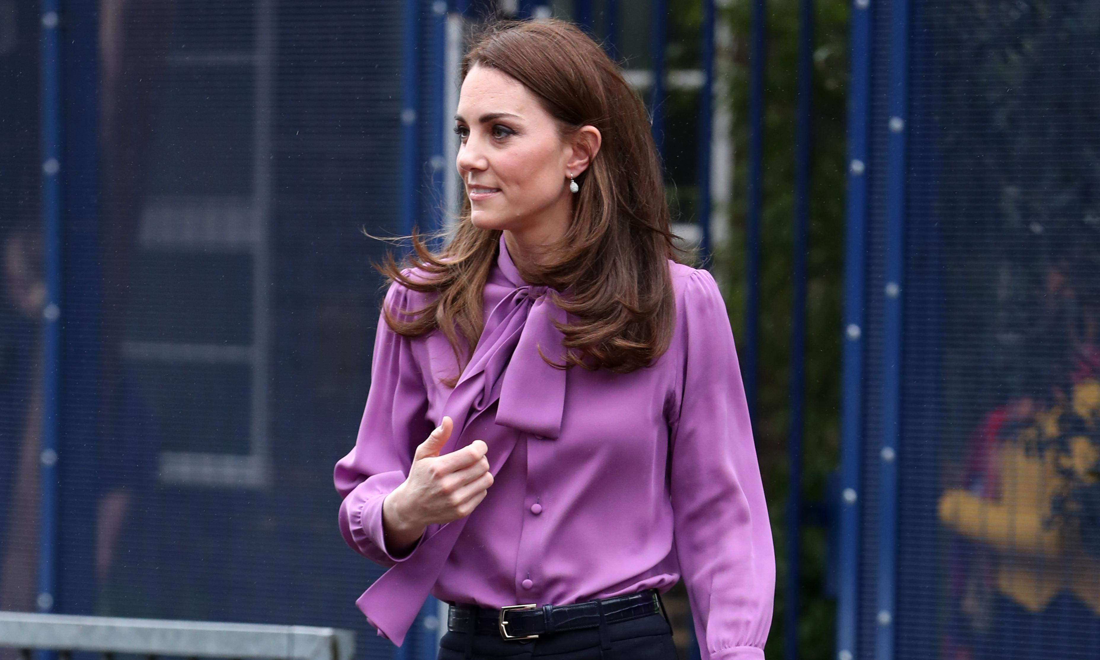 Back-to-front dressing: the Duchess of Cambridge knows what she's doing