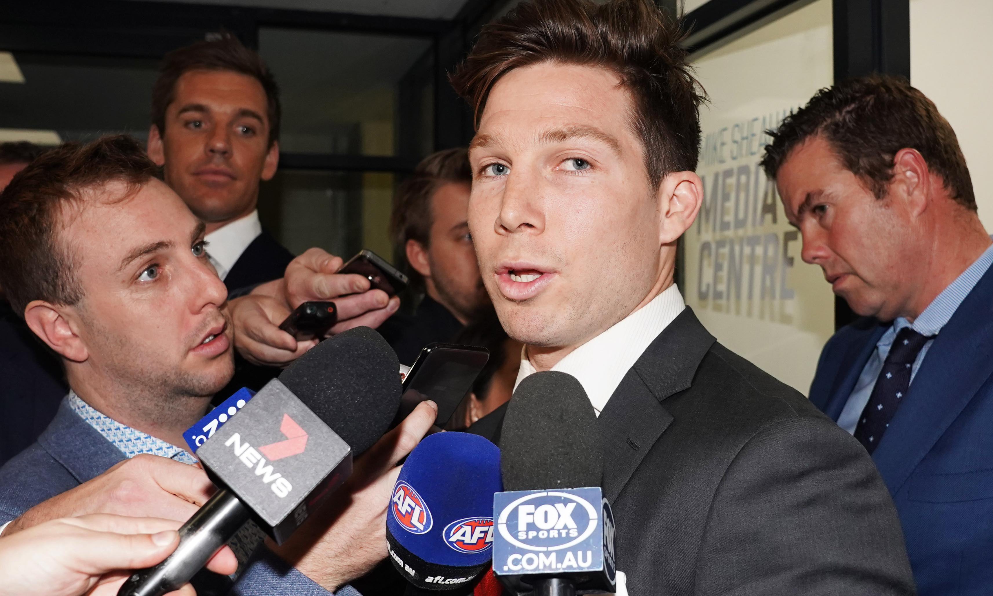 Giants 'stunned' as Toby Greene fails to overturn AFL ban