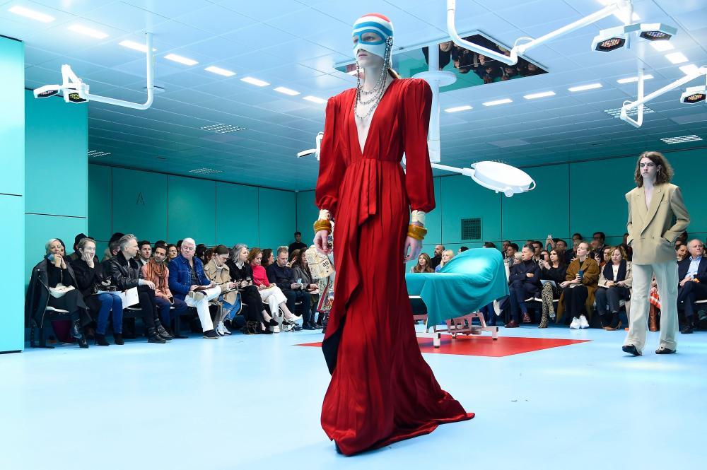 Gucci show, Milan Fashion Week