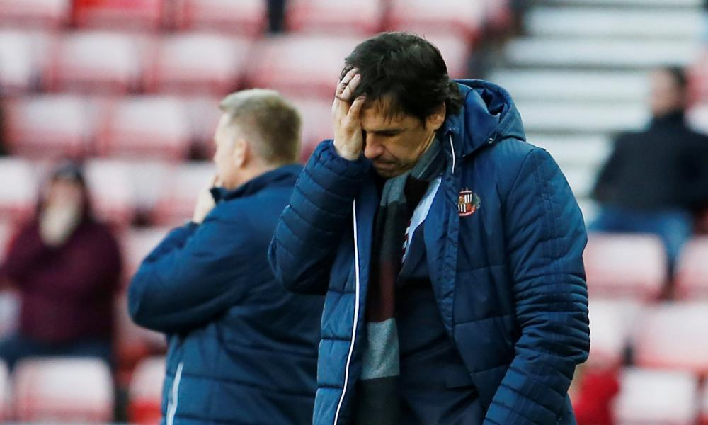 Chris Coleman: not loving life at Sunderland.