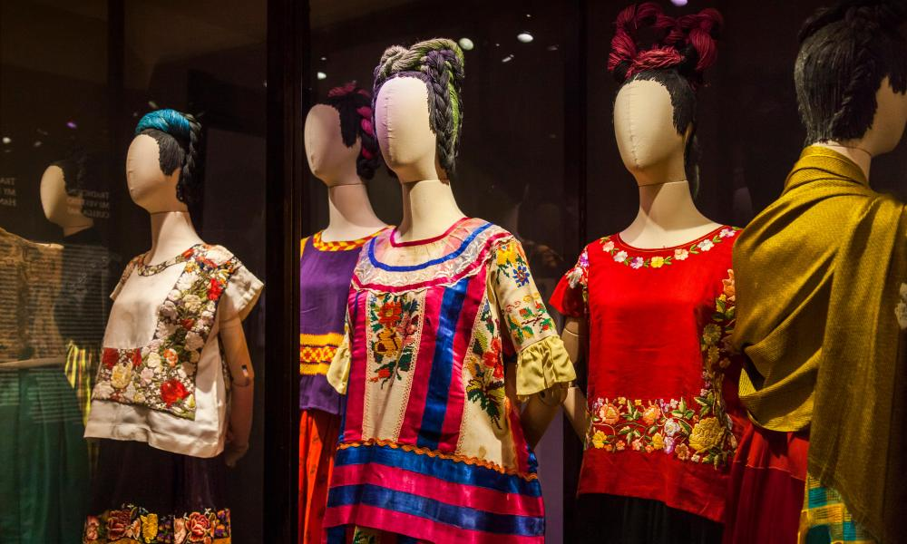 Frida Kahlo's clothes on display