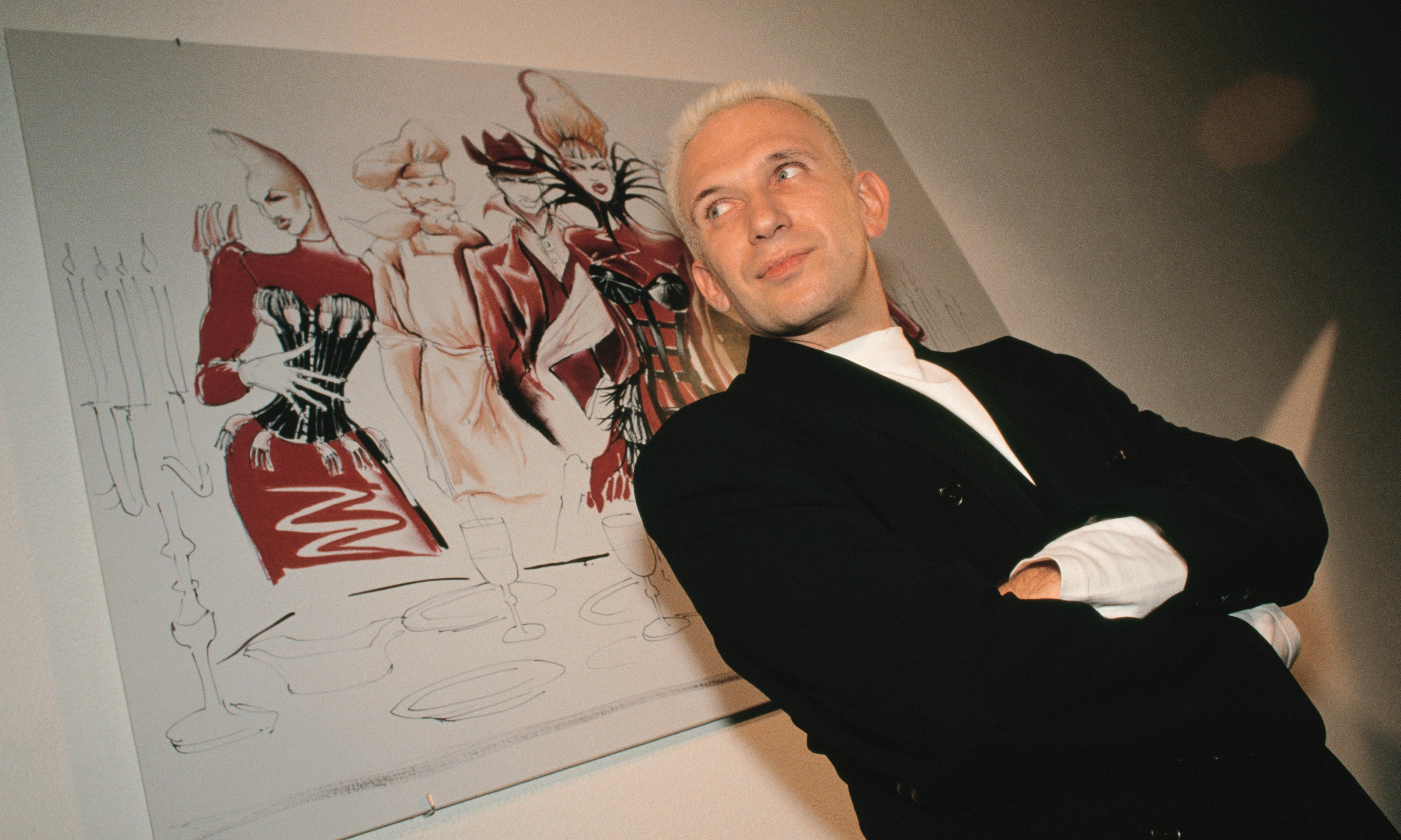 Jean-Paul Gaultier on his love for London – fashion archive, 4 December 1986
