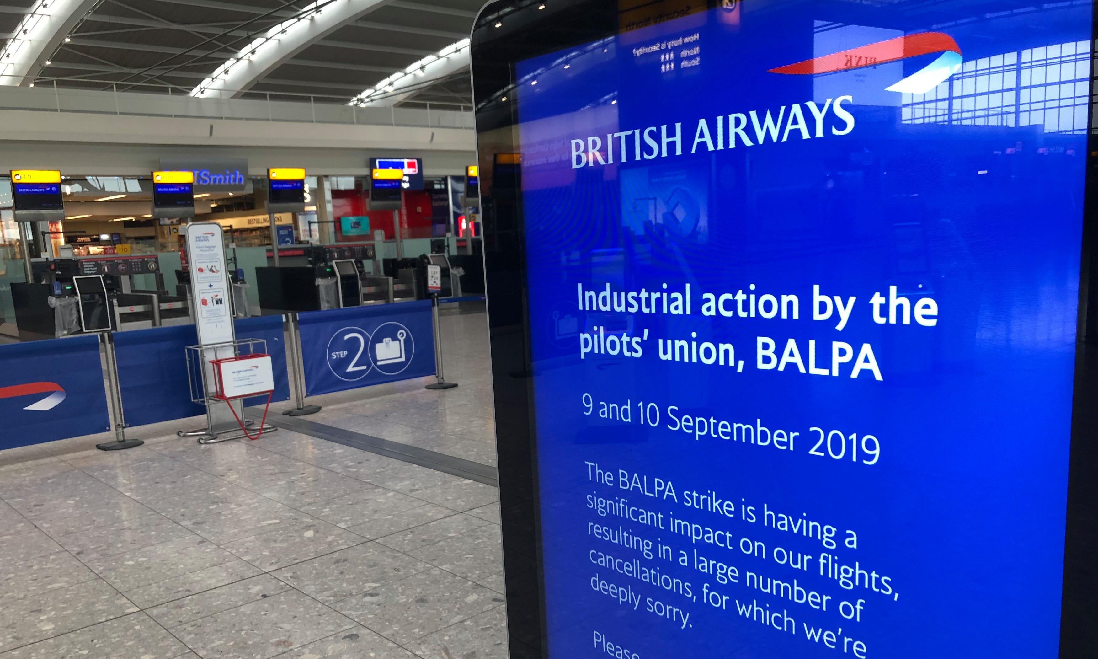 BA fails to keep its promise over pilots' strike fiasco