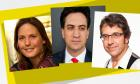 Ed Miliband and George Monbiot in conversation, chaired by Helen Czerski