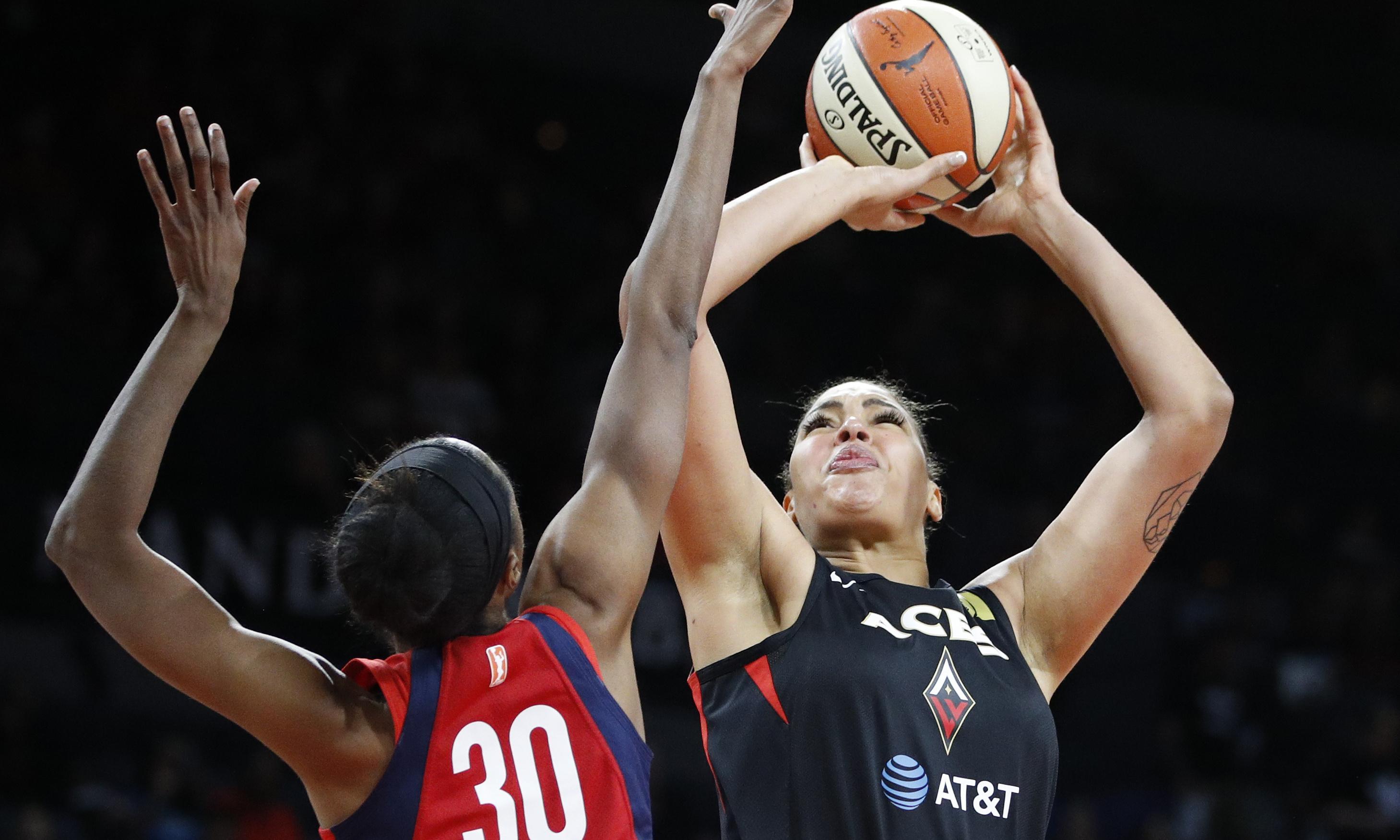 Liz Cambage mocks Mystics after WNBA play-offs win