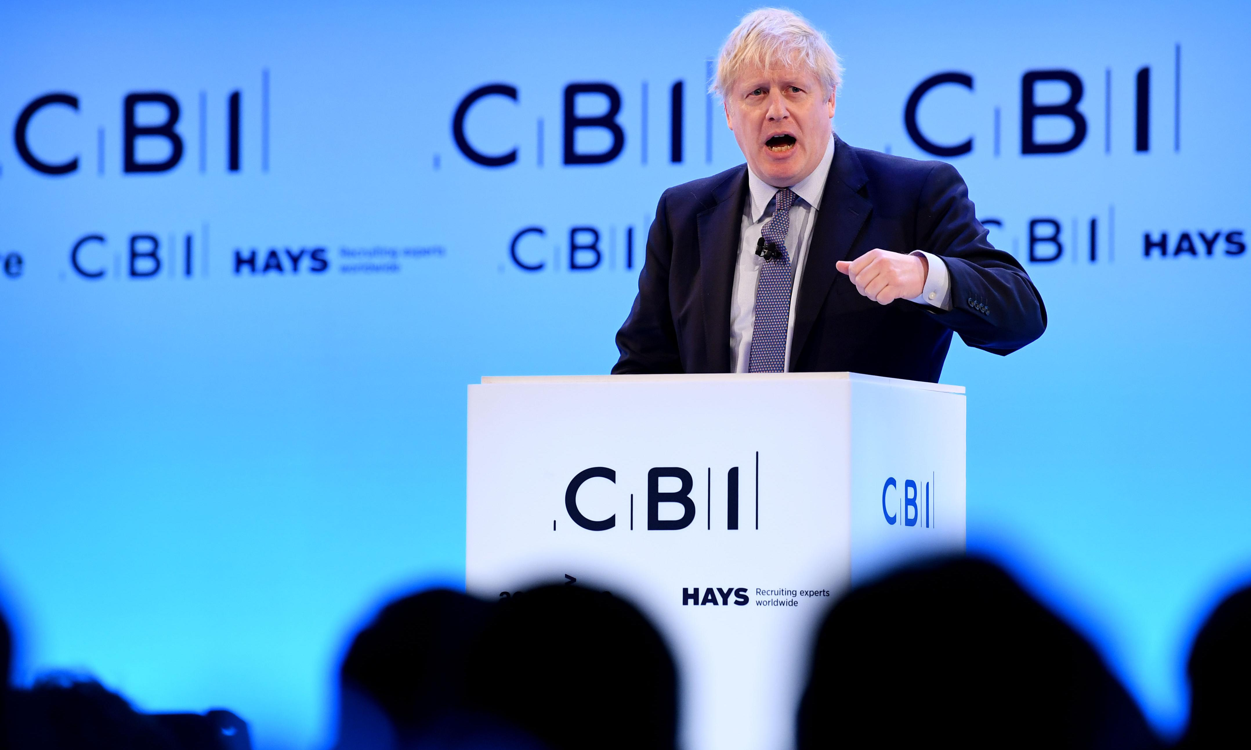 Johnson's Brexit would devastate business – the CBI must be hoping that he's lying