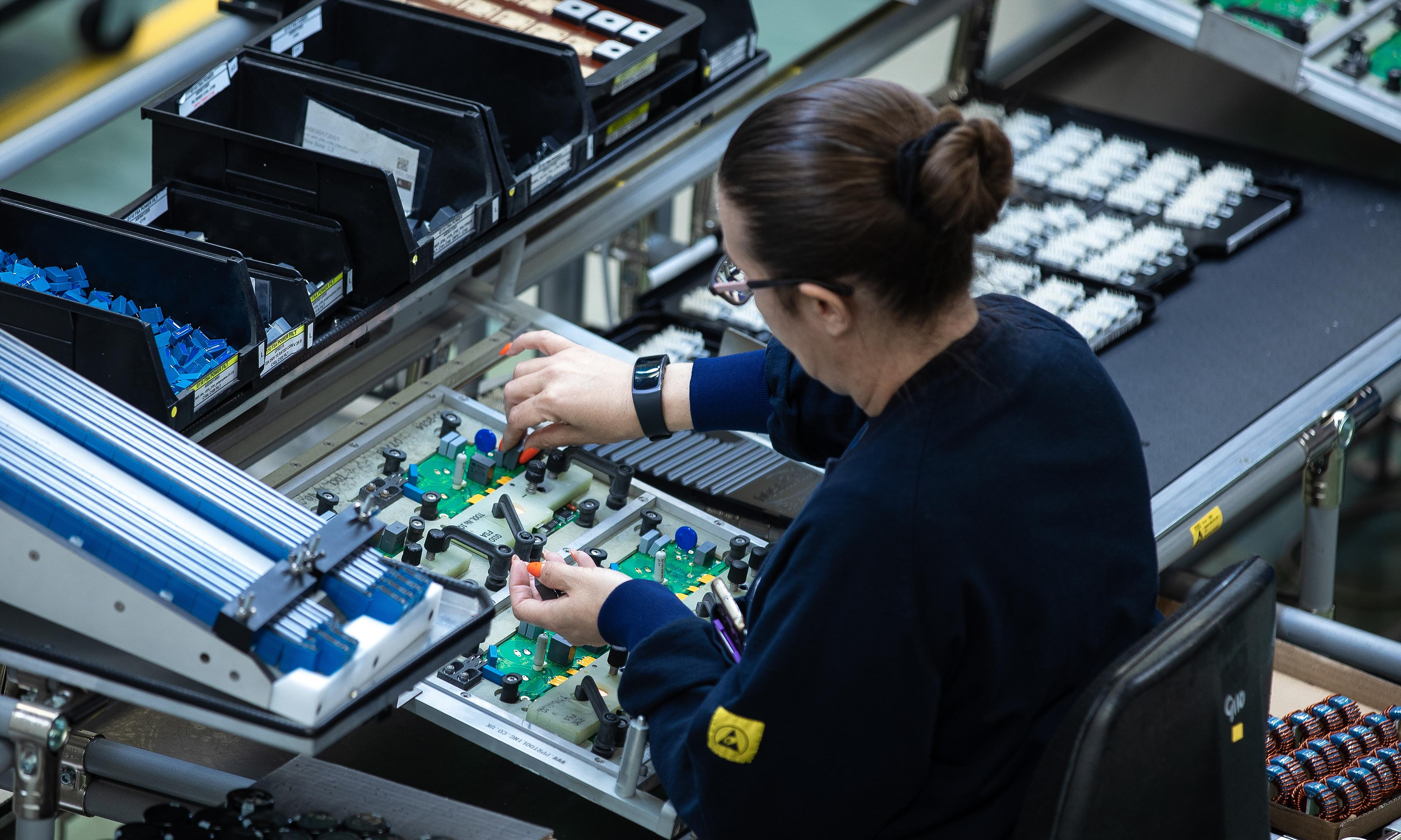 UK factories facing biggest slowdown since financial crisis, says CBI