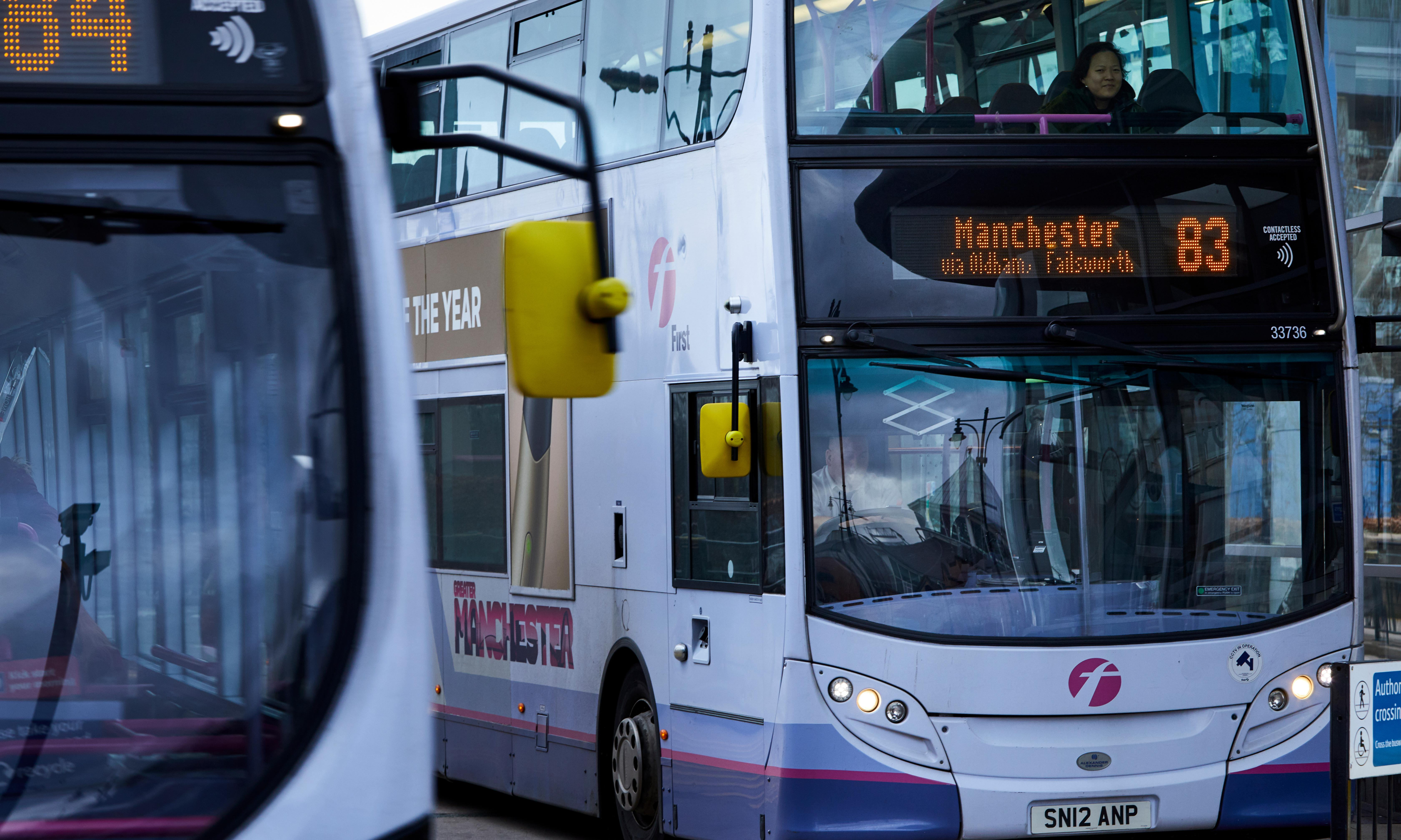 Andy Burnham calls for bus fare subsidies in north to match London