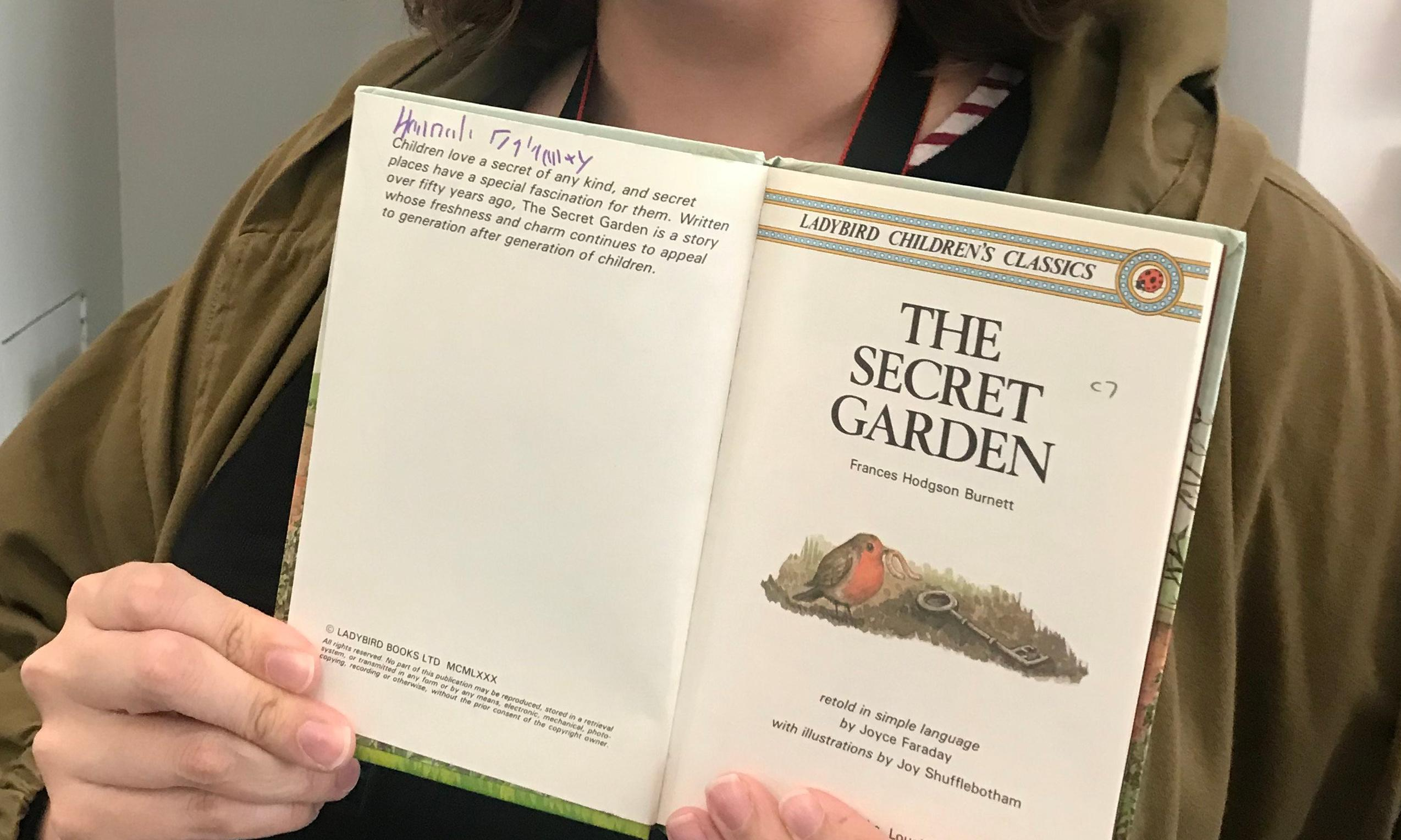 'Only a quid': woman reunited with childhood book in museum shop