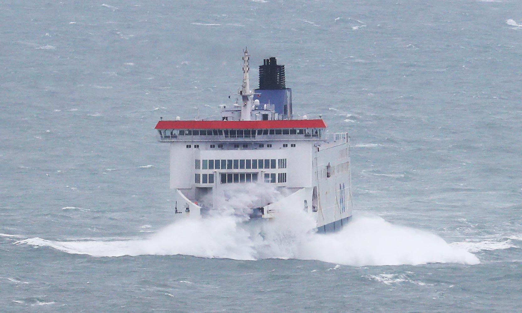 P&O ferry rescues migrant trying to swim from France to UK