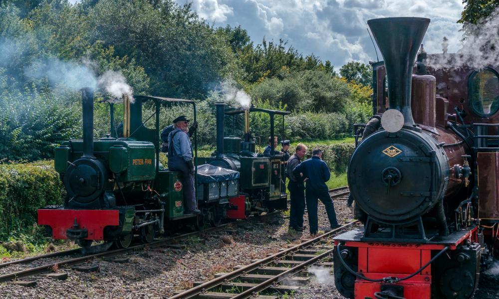 Leighton Buzzard steam trains