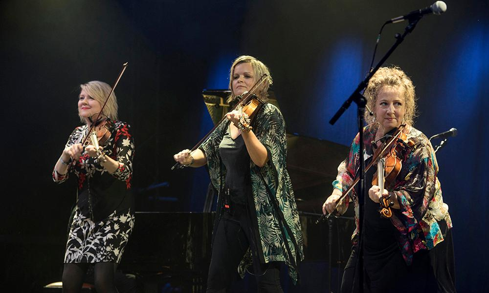 The String Sisters performing in 2016.