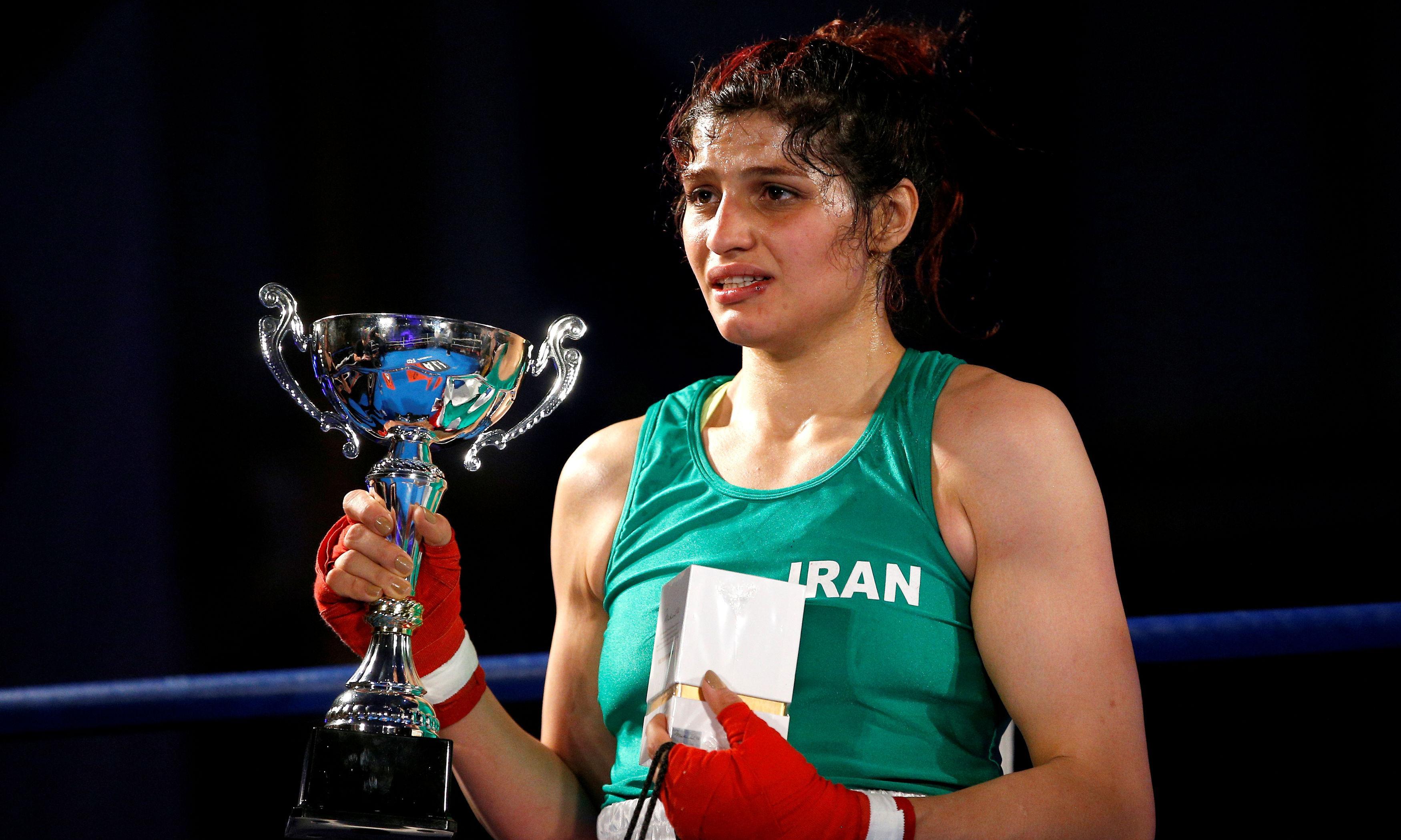 Boxer Sadaf Khadem cancels return to Iran after arrest warrant issued
