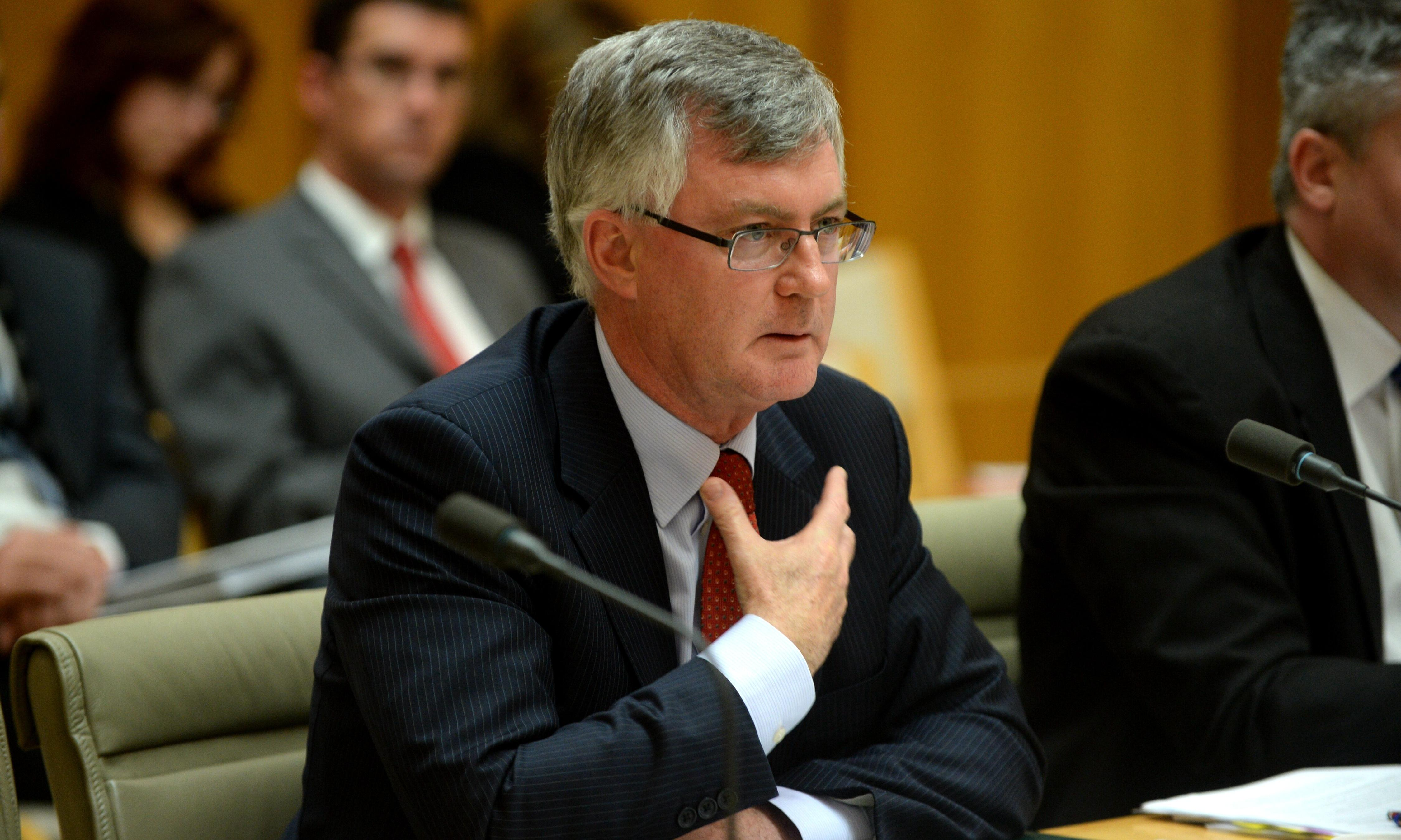 'Pub test' gets Pythonesque as Martin Parkinson grilled over Pyne and Bishop's jobs