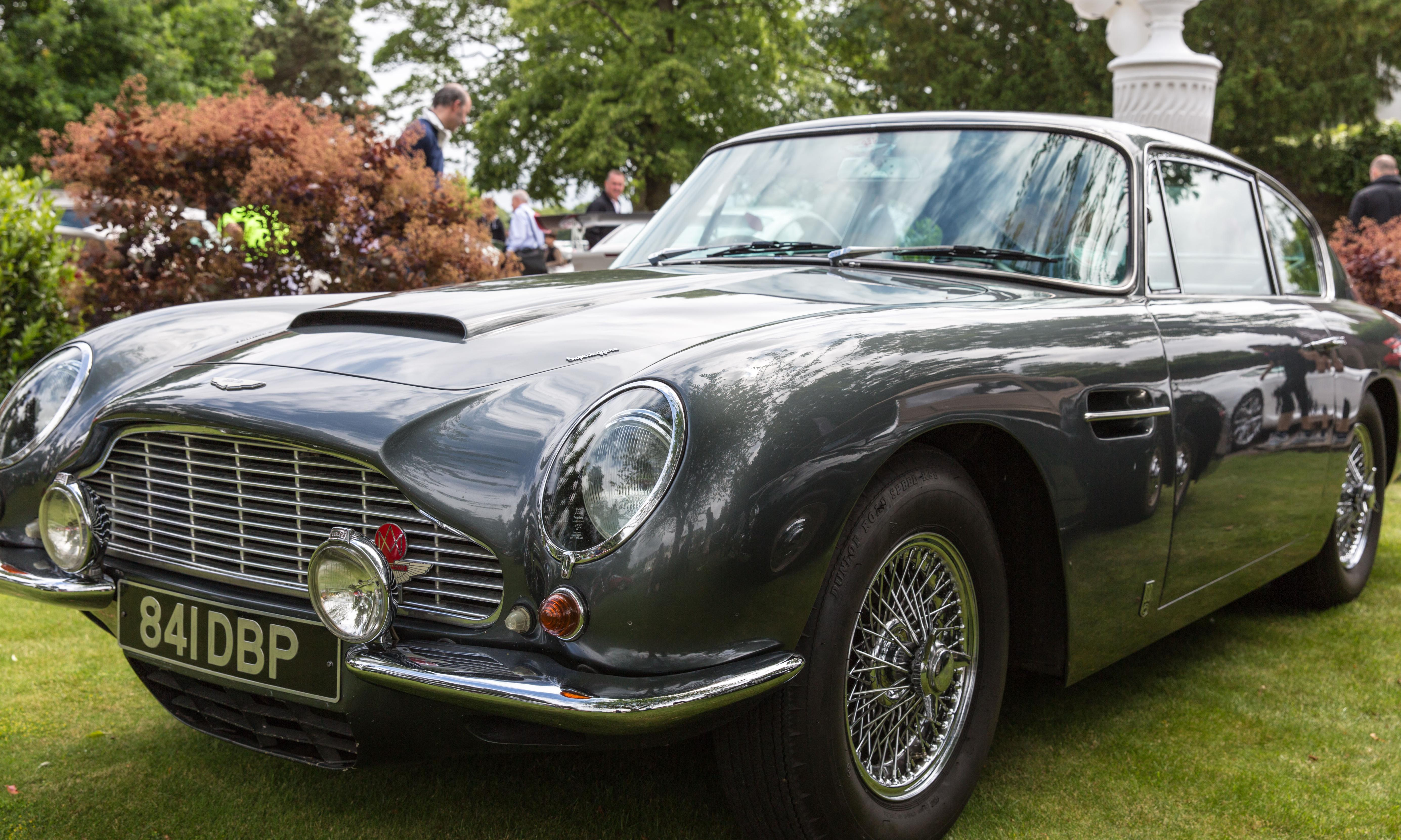 James Bond Aston Martin DB5 sold at auction for £5.2m