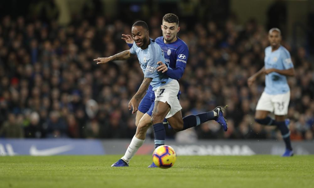 Sterling fends off a challenge from Kovacic.