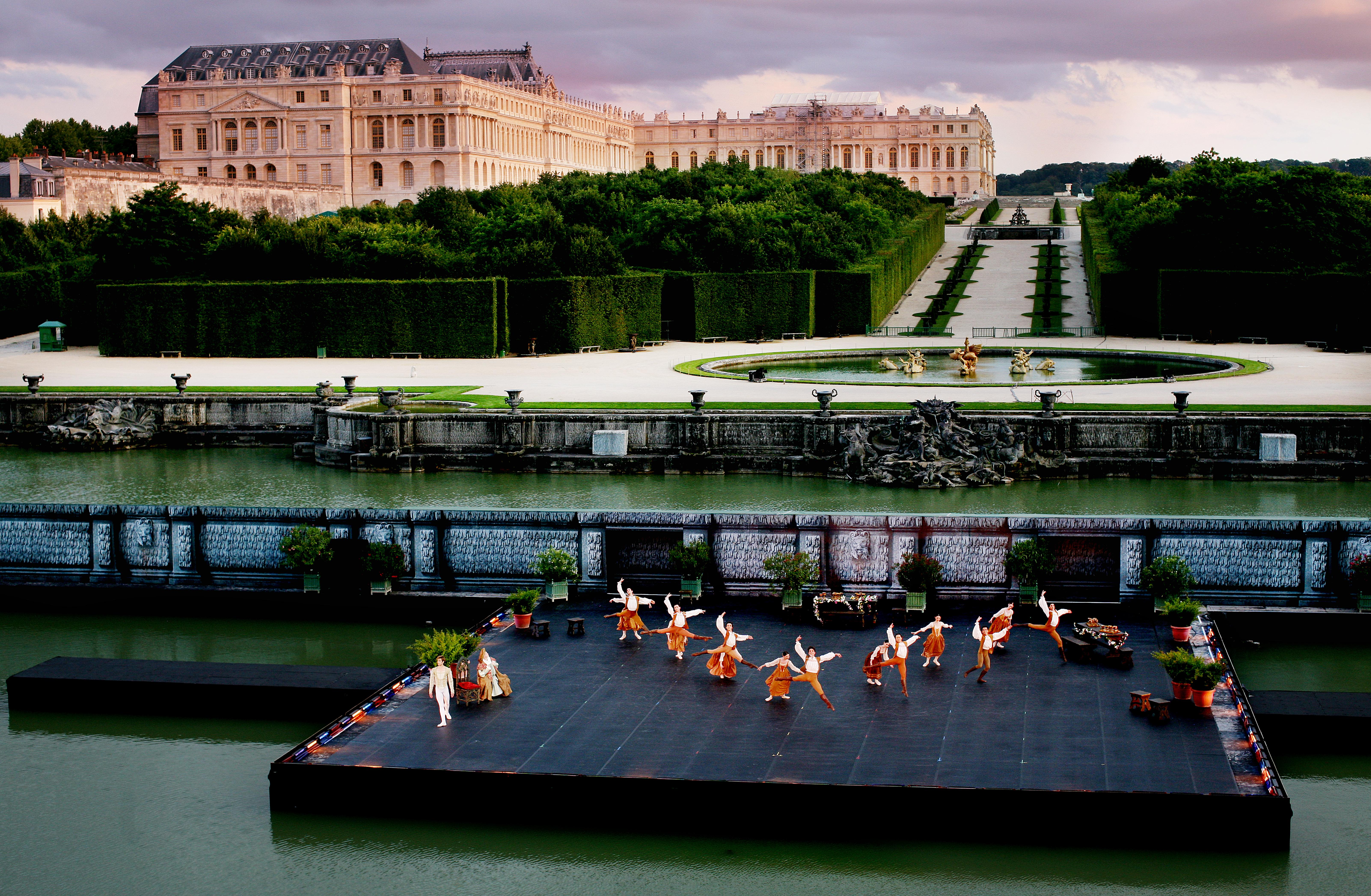 Buy a classic Guardian photograph: English National Ballet at Versailles, 2007