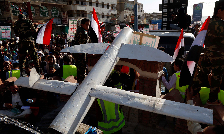 UN Yemen envoy welcomes Houthi offer to halt attacks on Saudi Arabia