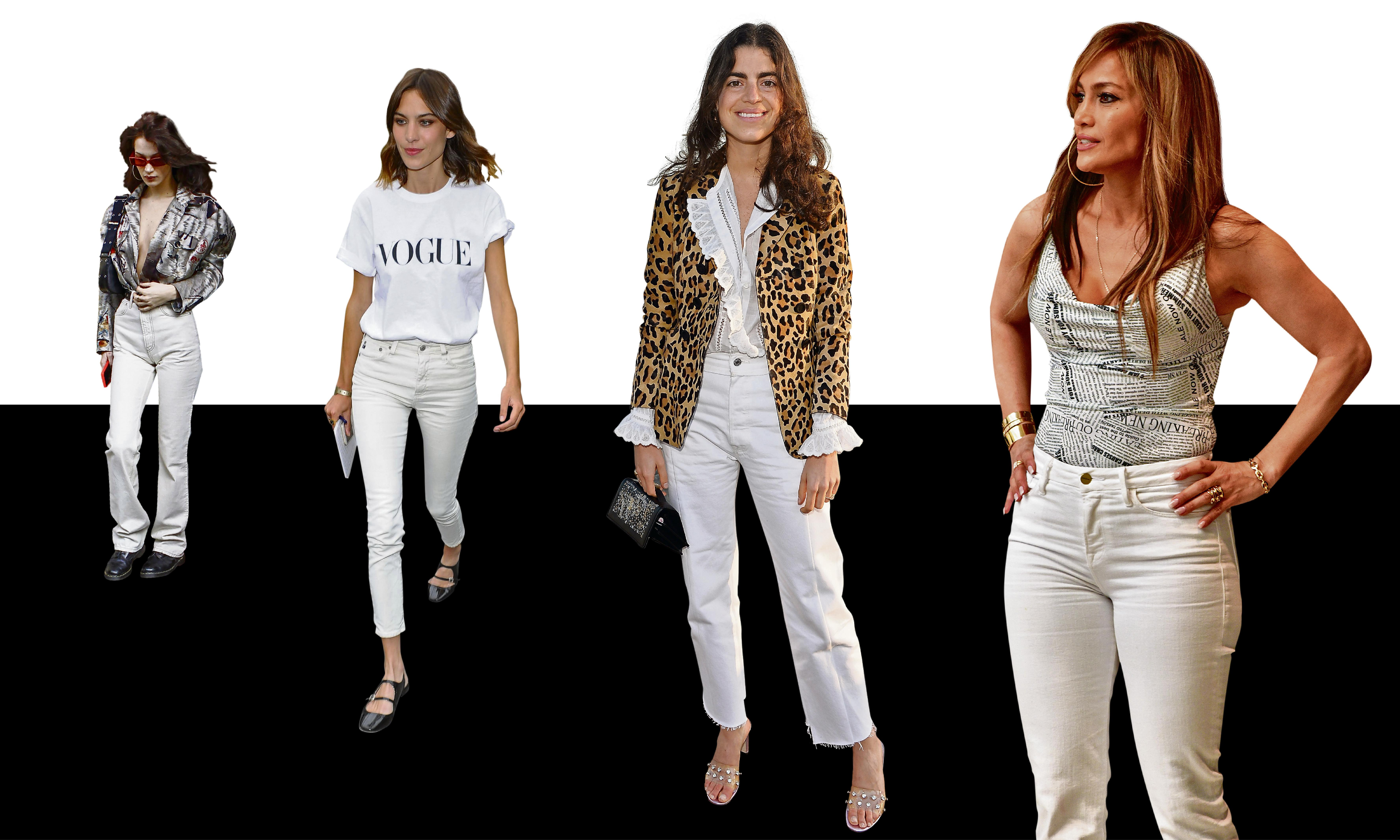 All white now: the great white jeans revival